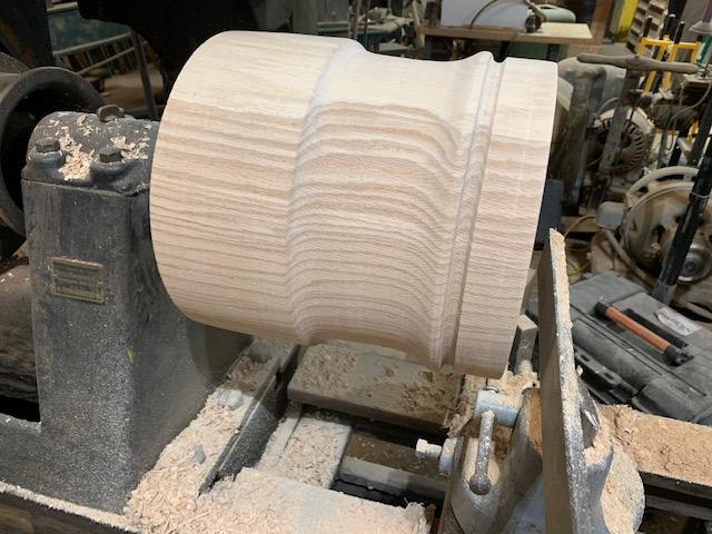 White Oak Stump