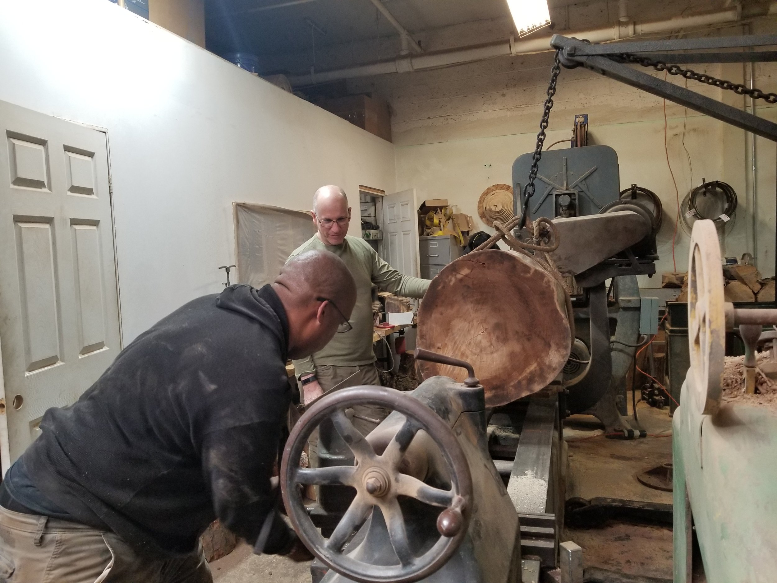Mounting a Stump on the Oliver 66