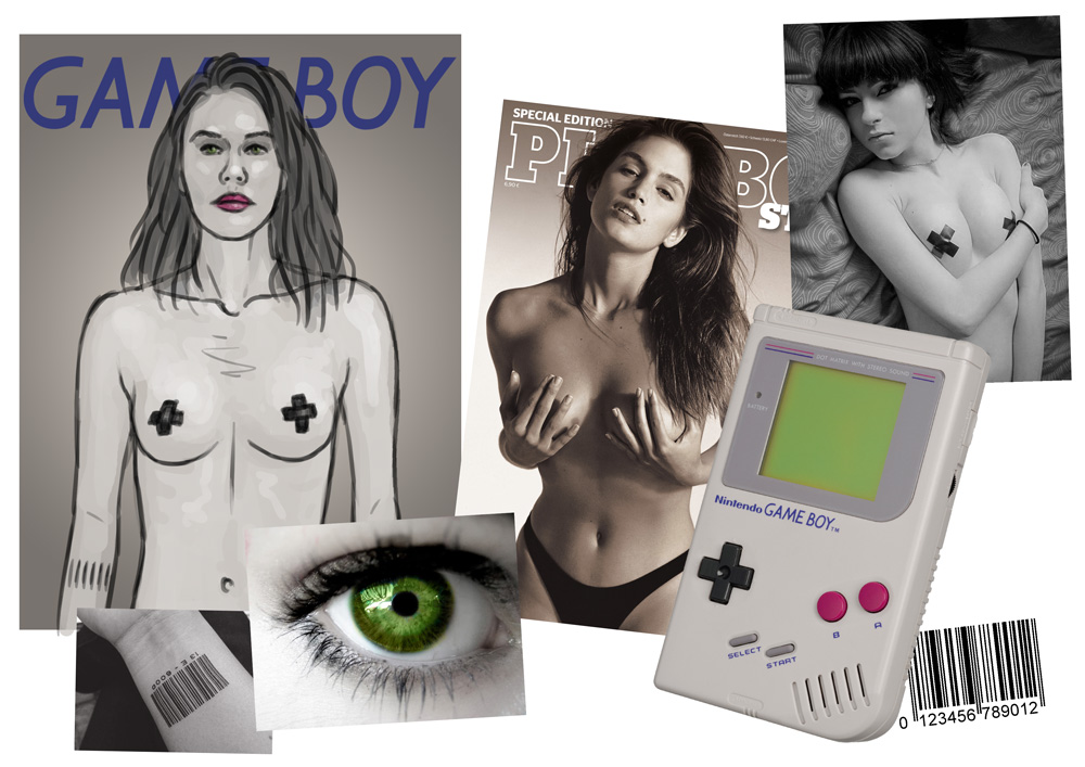 Concept moodboard: Gameboy Girl