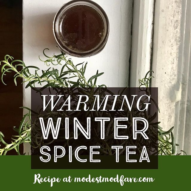 {NEW POST} As promised from my teaser in my stories yesterday...😏the recipe for my winter spice tea is #ontheblog this morning! Check it out for a lovely warming tea that will soothe your soul and warm those cold fingers! 😊 • • • • #blogger #blogpost #chicago #chicagoblogger #rd2be #winter #winterishere #recipe #tea #homemade #homemadetea #ginger #cloves #nutmeg #intuitiveeating #selfcare #selflove #foodie #linkinbio