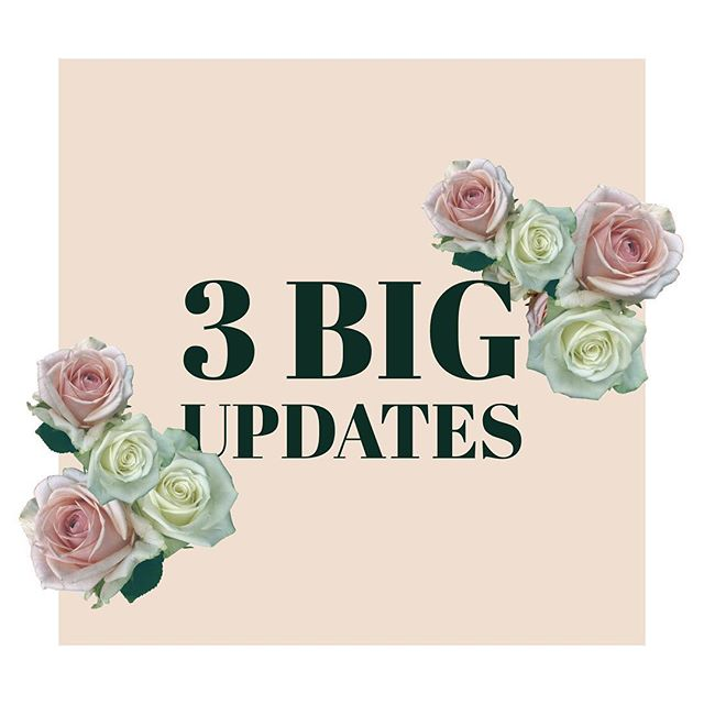 It has been QUITE the hiatus (😊😬🙊) but the blog is back with 3 BIG updates! Check it out! . . . #ontheblog #linkinbio #updates #blogger #dietitian #rd #newblogpost #rd2be #nutrition #chicago #chicagoblogger #foodie