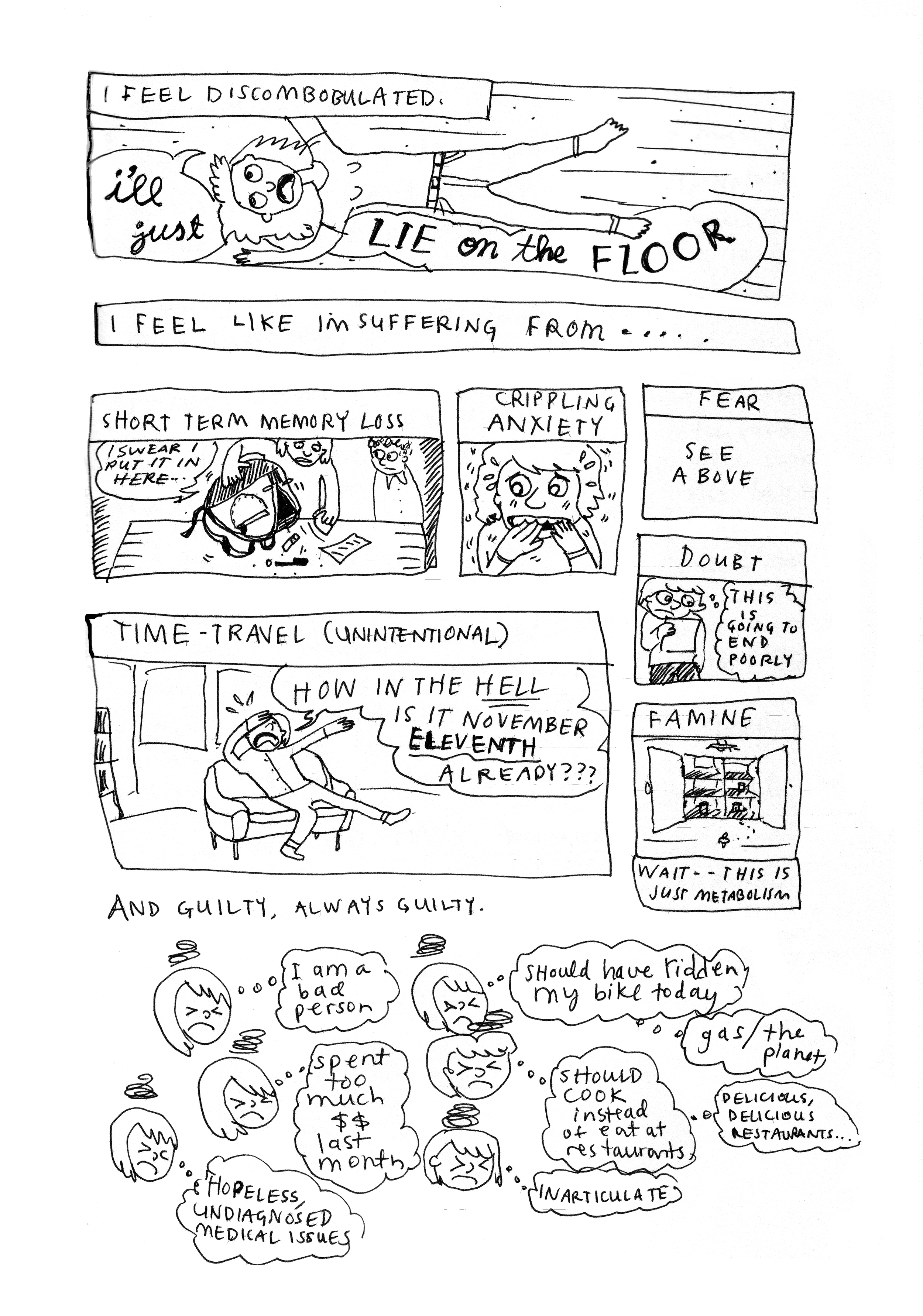 Today Is Wierd  (sic), page 2 of 2, 2014