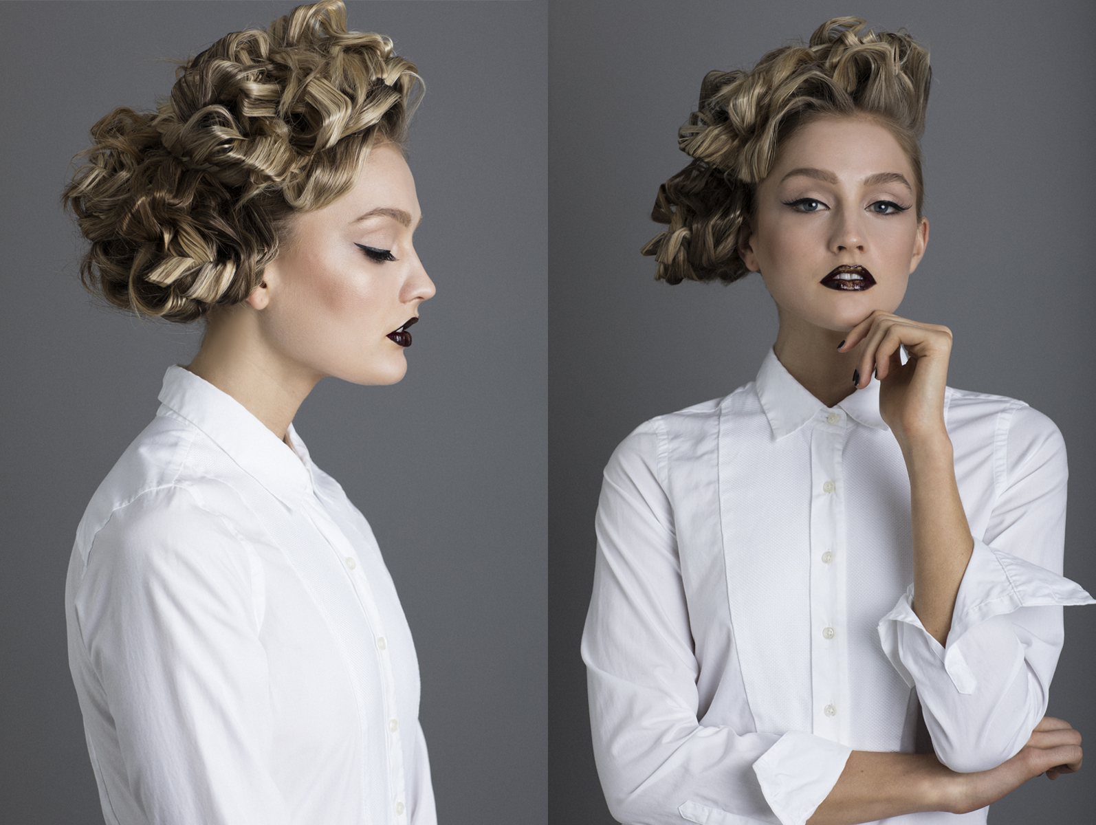 editorial high fashion hair