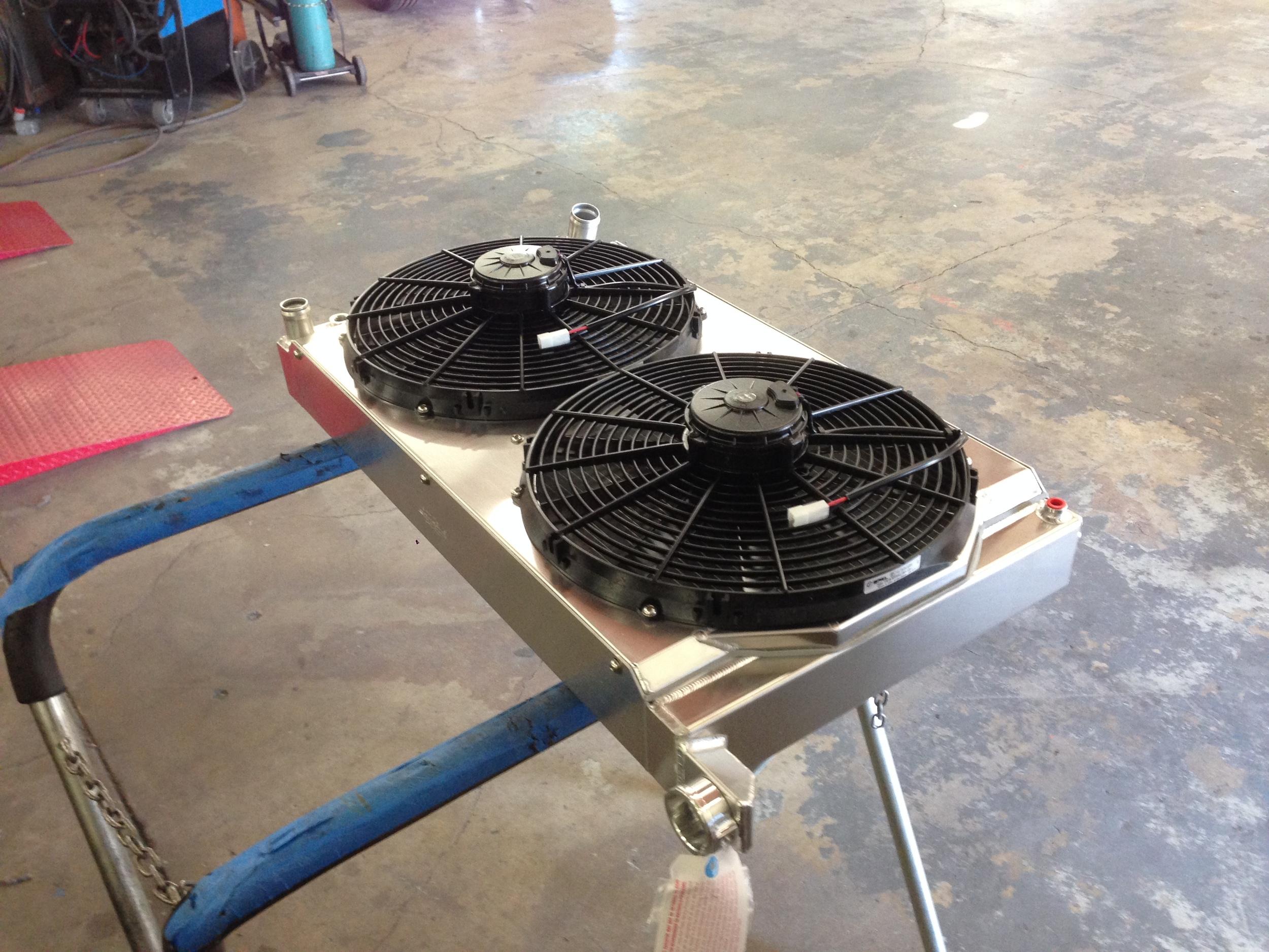 Custom radiator