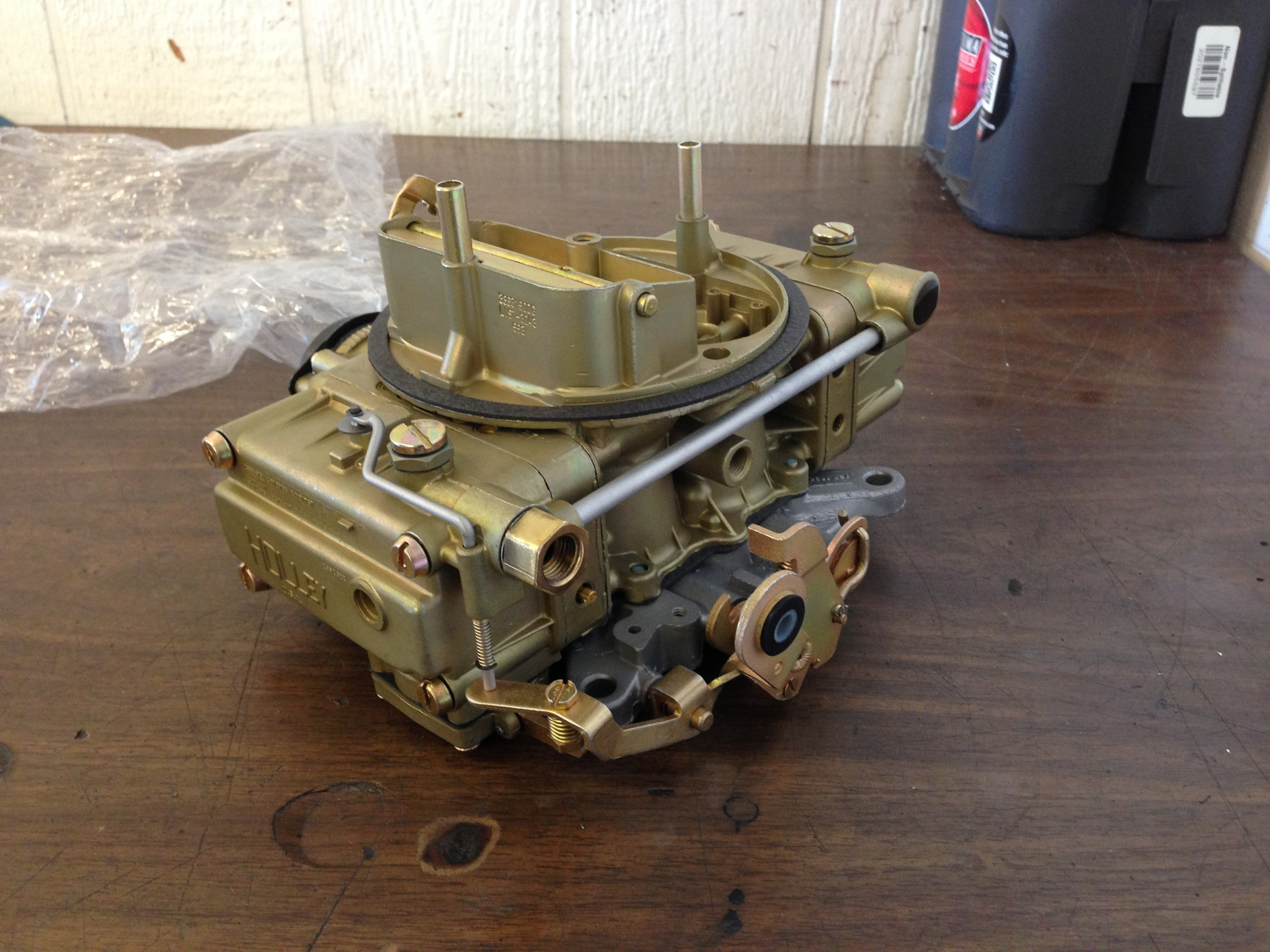 Restored and correctly date coded carburetor