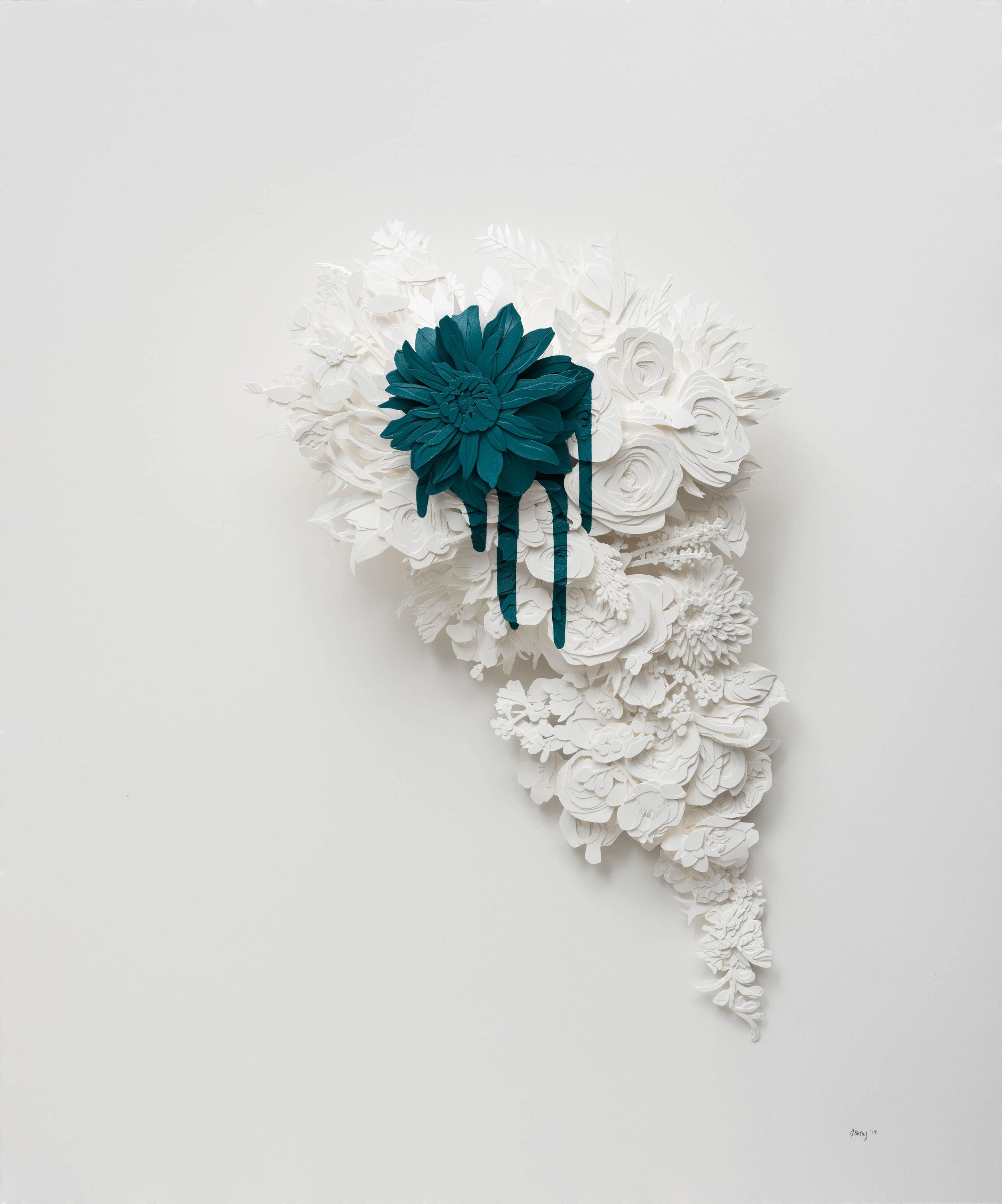 Bleed in Cobalt Turquoise