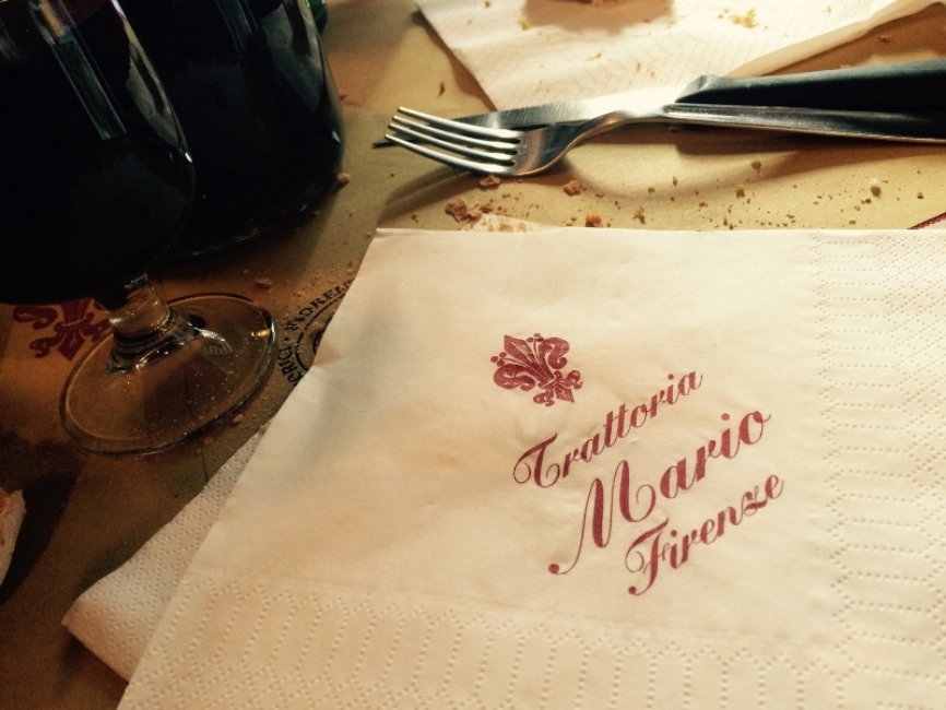 There really is nothing like havinga liter of wine for breakfast at Mario's.