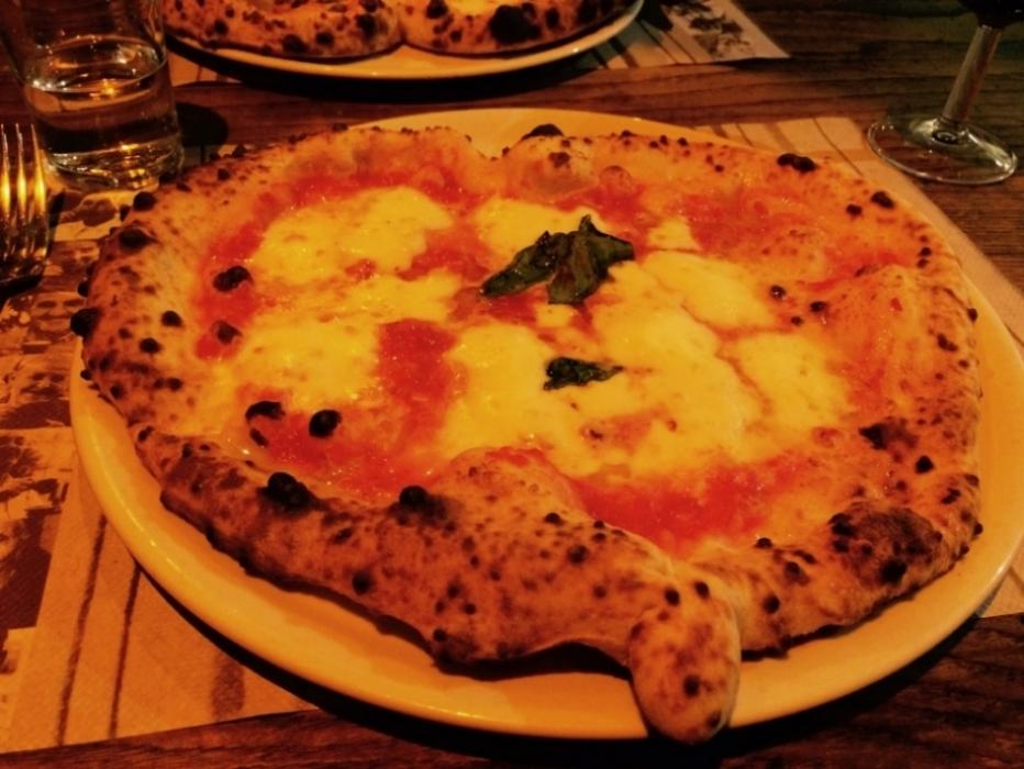 Caffe Italiano's heart shaped pizzas warm the heart.