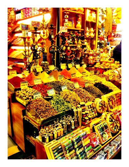 Market treasures.