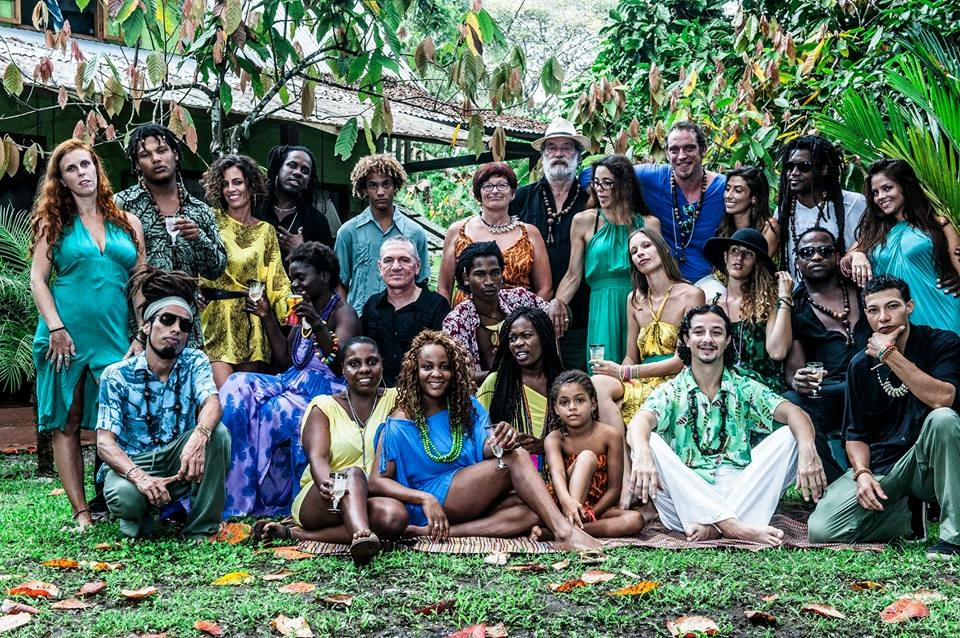 A perfect showing of the diverse inhabitants of Costa Rica's Caribbean coast (in Luna's designs of course).