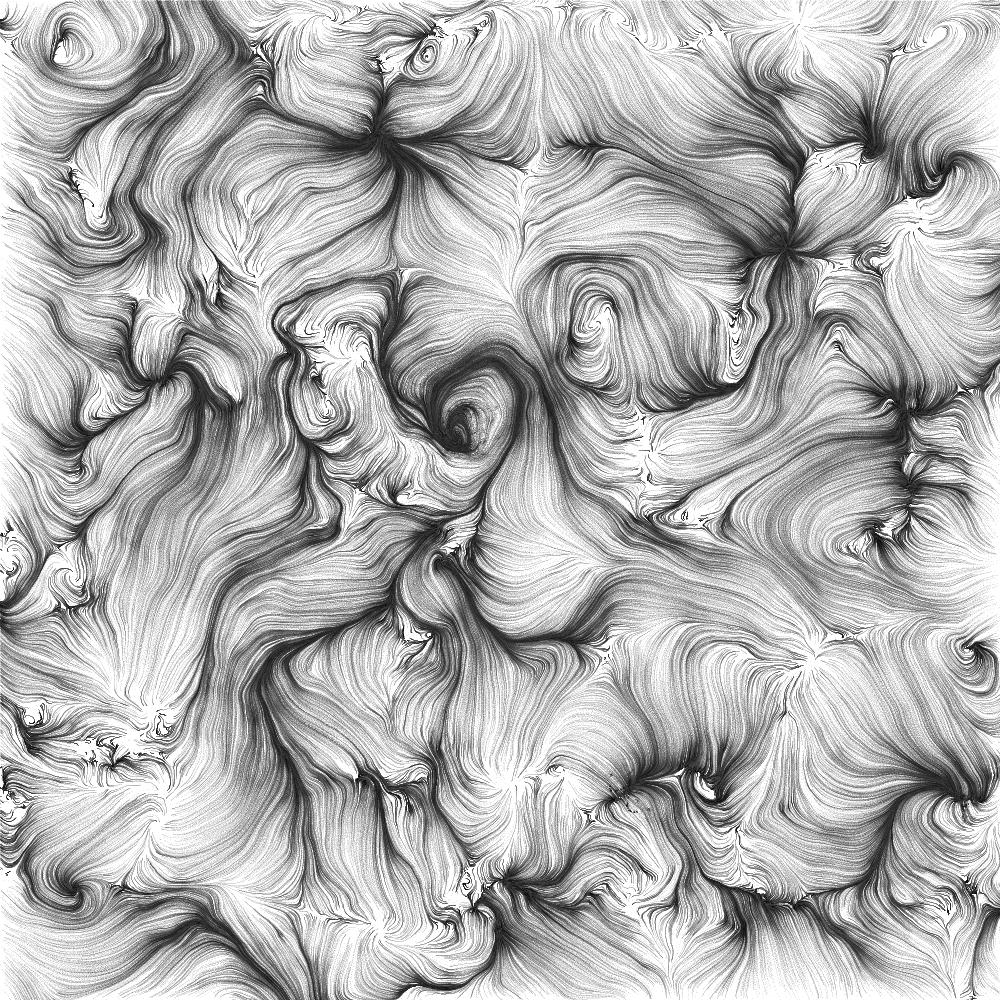 Stinging Eyes, 'Perlin Sketch,' 2009.