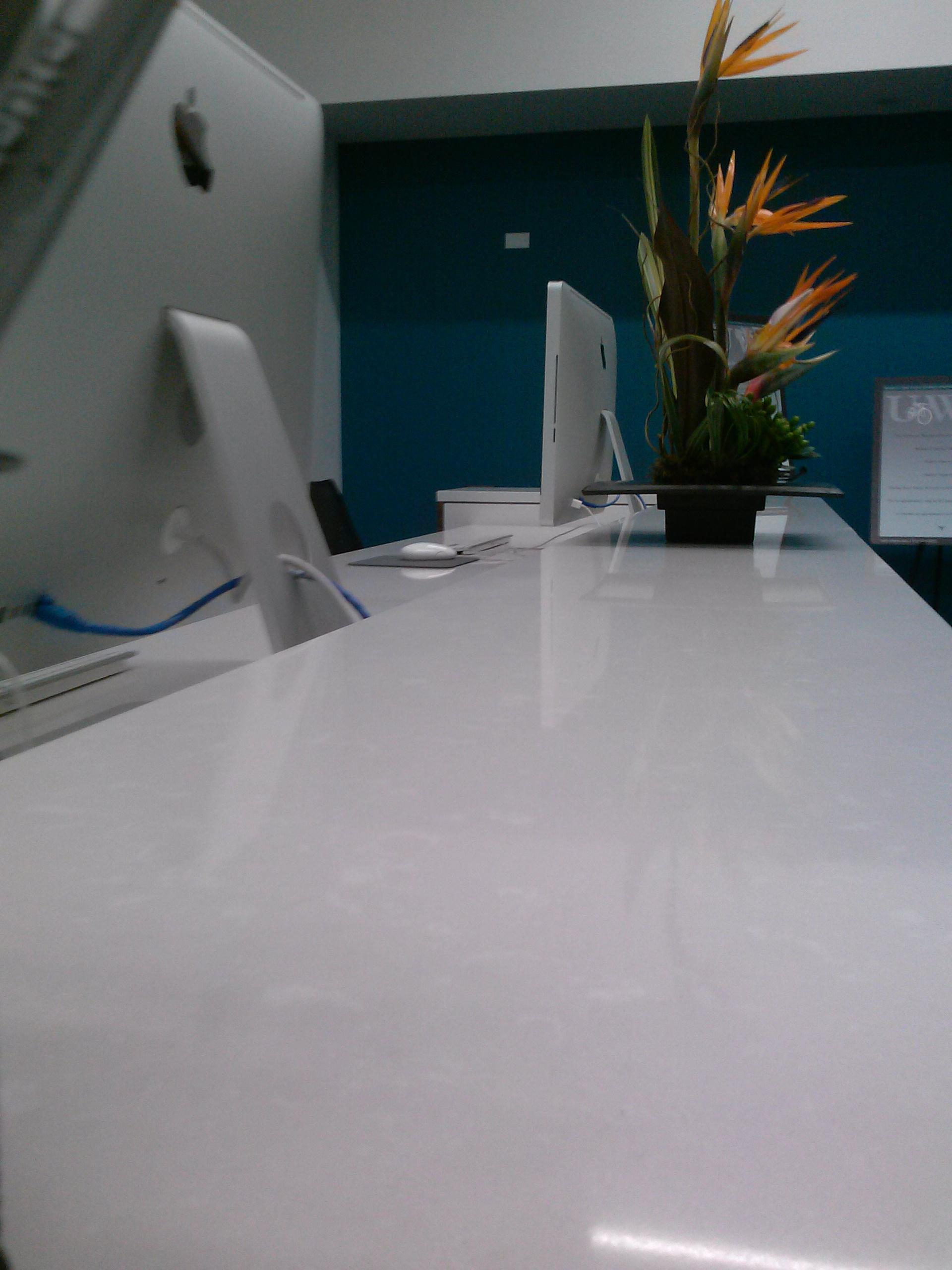 Front Desk (detail)