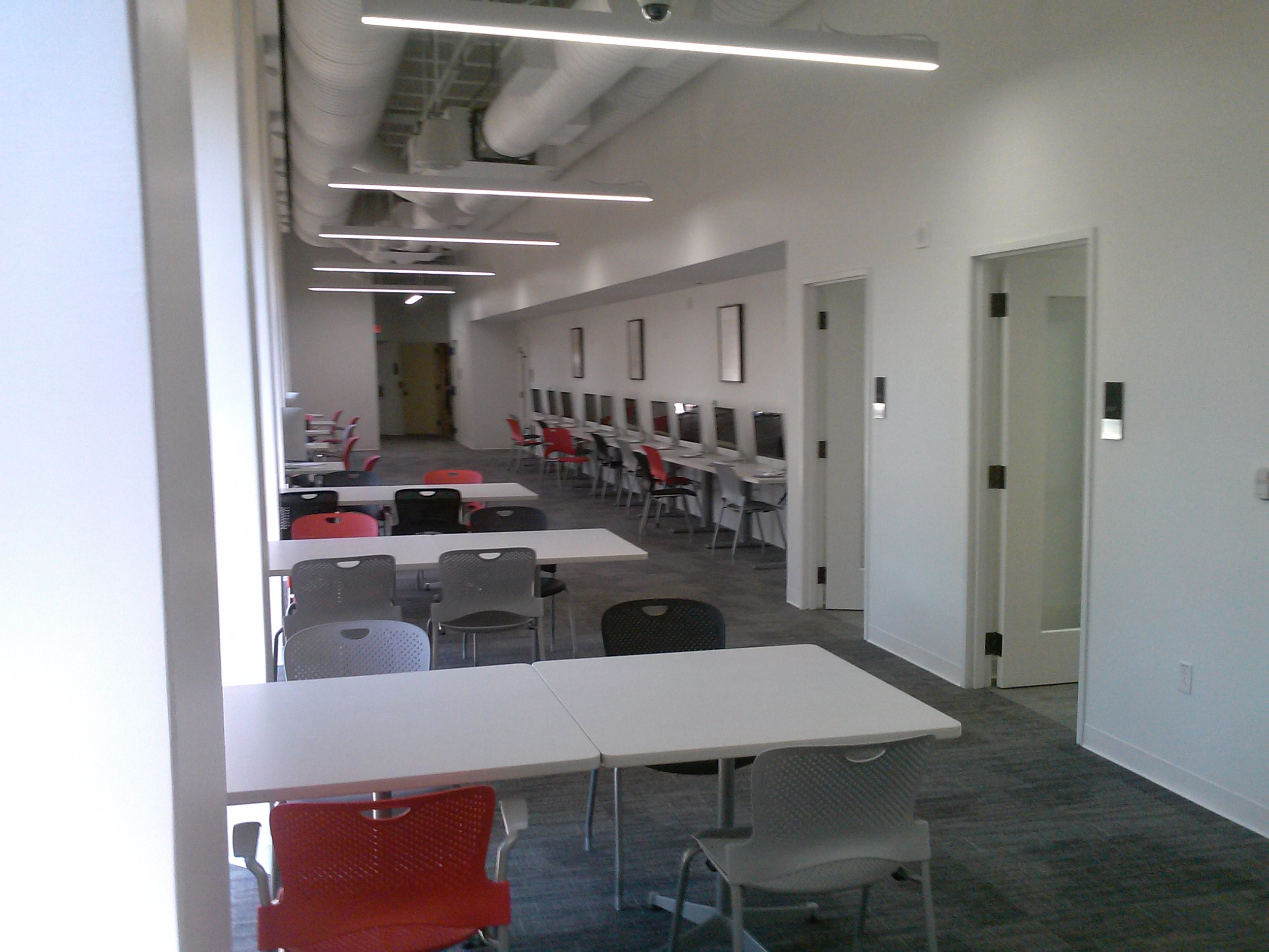 Low Distraction Rooms, Quiet Work Area