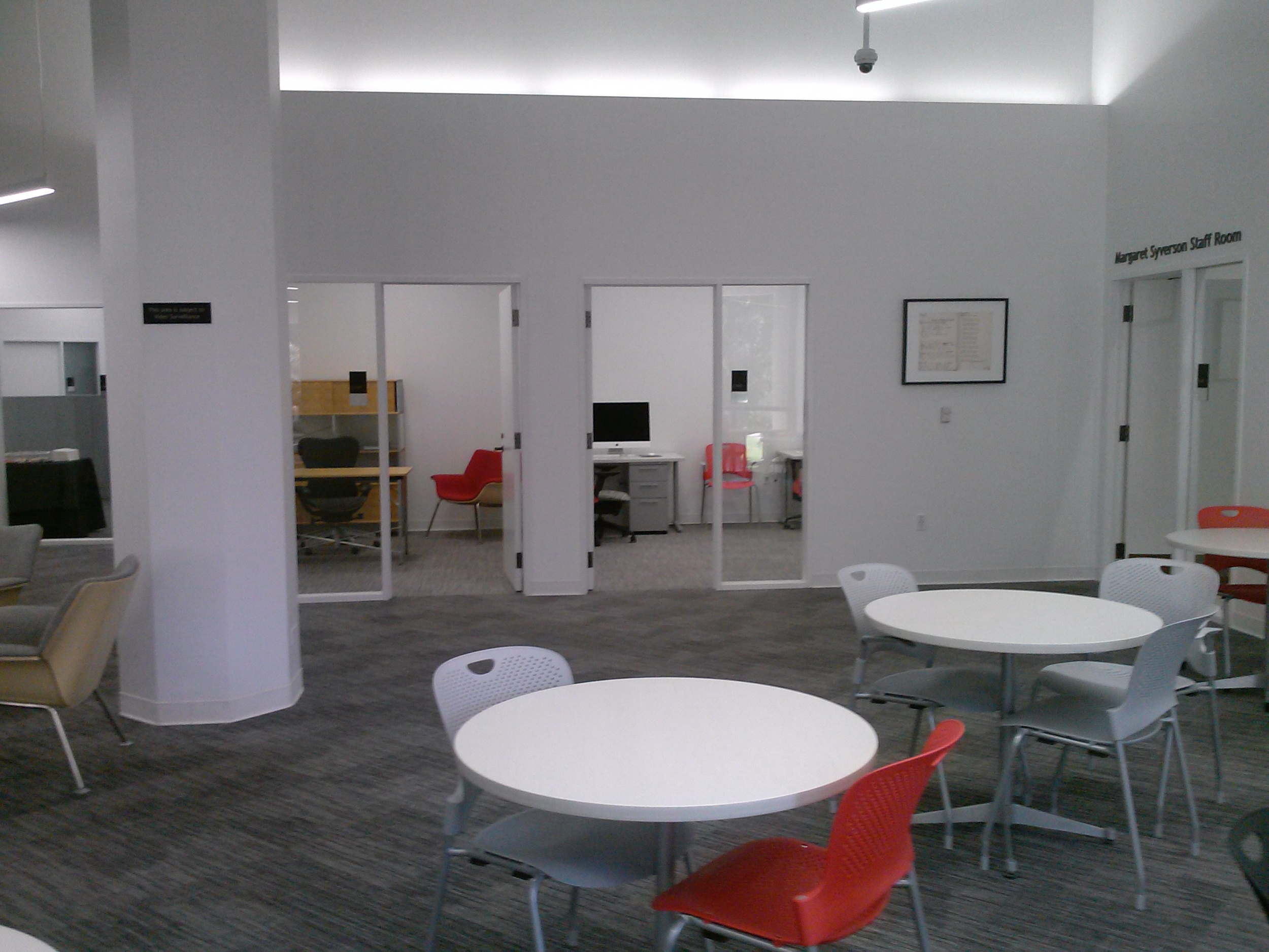 Administrative Offices, Staff Lounge