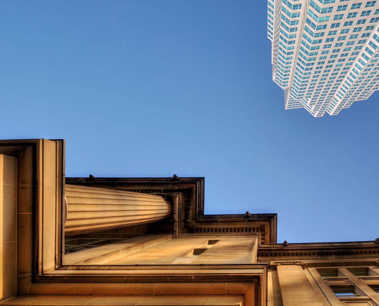 Grant McDonald, 'Old and New Upward View' 2009