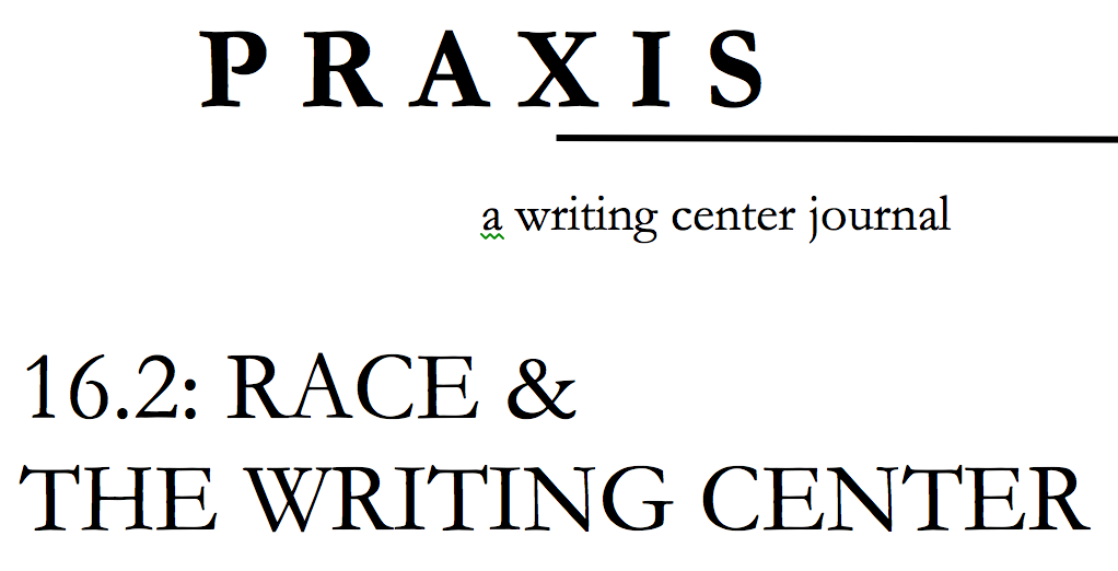 the cover for the 16.2 edition of Praxis Journal.