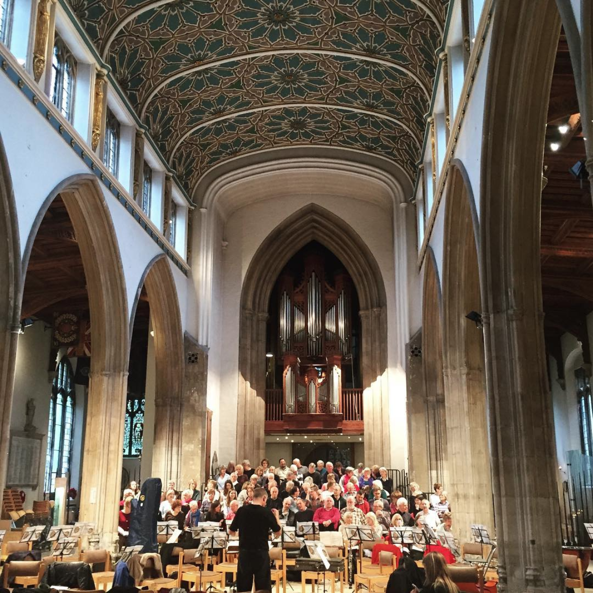 Elgar's 'The Dream of Gerontius' - Had a lovely time playing with Ensemble OrQuestra at the Chelmsford Cathedral. Met some great people, including another Canadian violist from the East Coast. 'Dream of Gerontius' is a large choral work with soloists, and the best I can describe it is a very English pastorale oratorio with a host of demons thrown in.