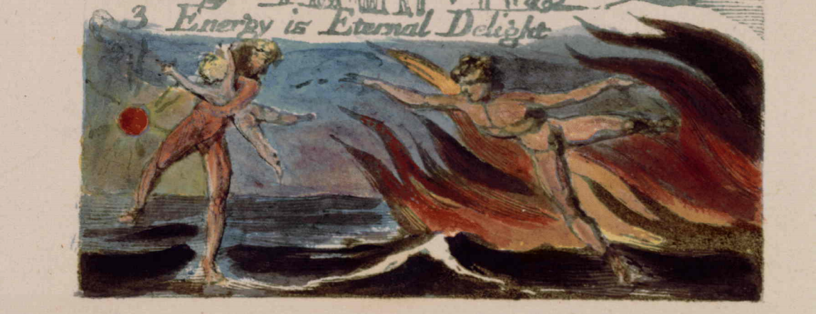 """From William Blake's """"The Marriage of Heaven and Hell,"""" Copy D."""