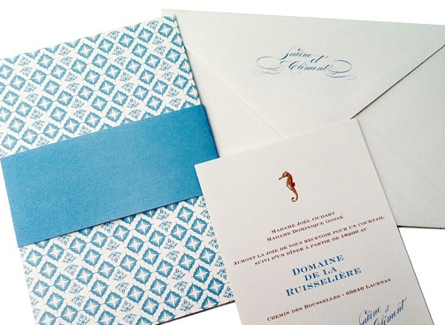 Invitation by Flare Paper n' Style