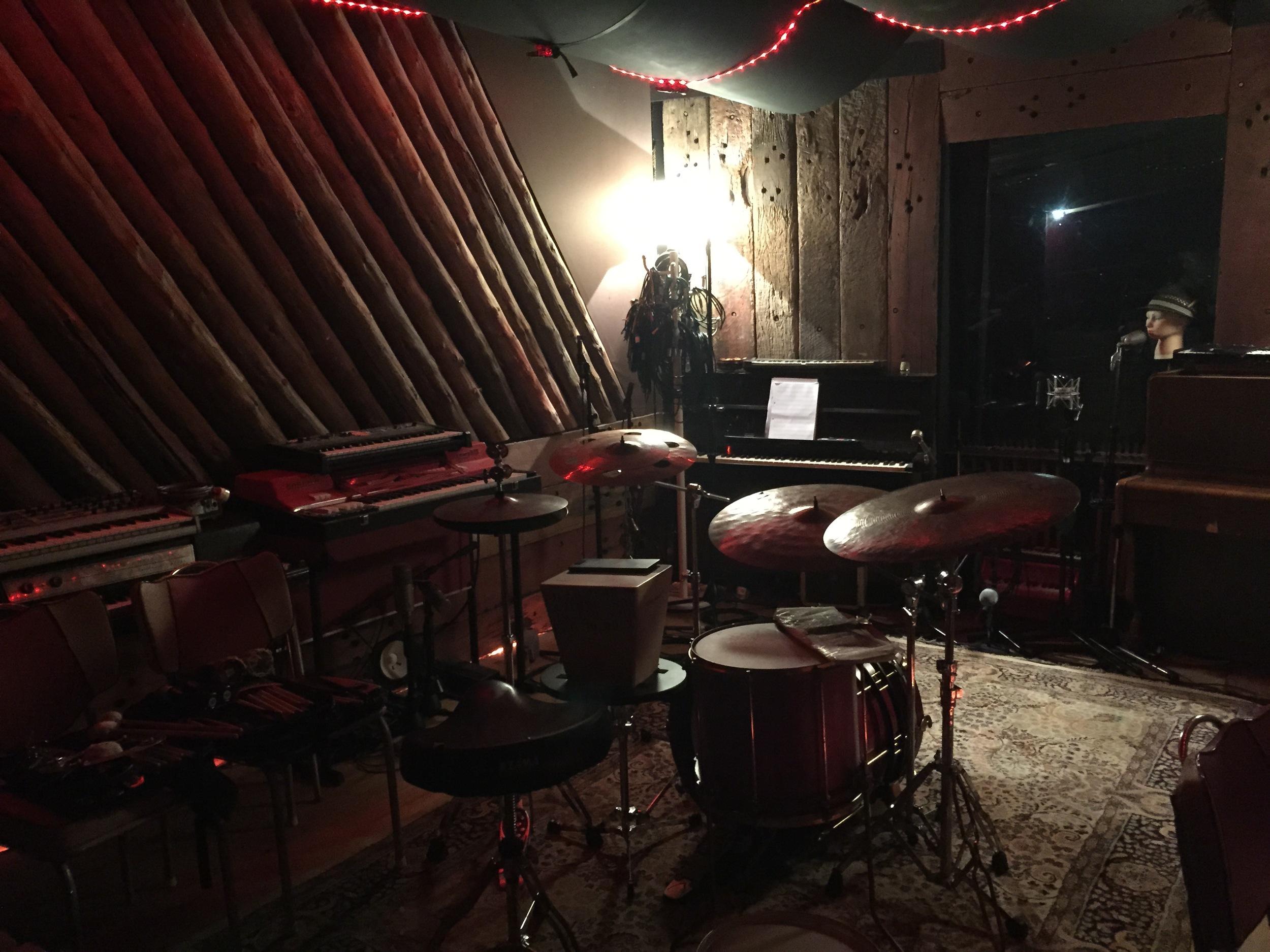 Nic Cecire's setup at Free Energy Device Studios 'Nov 2014