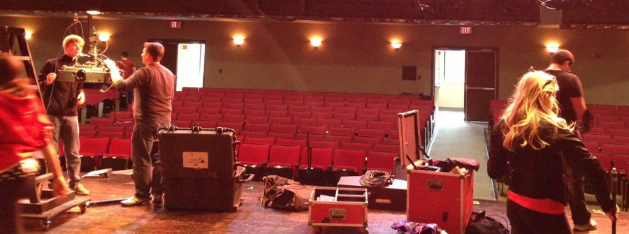 Stage management of a professional show