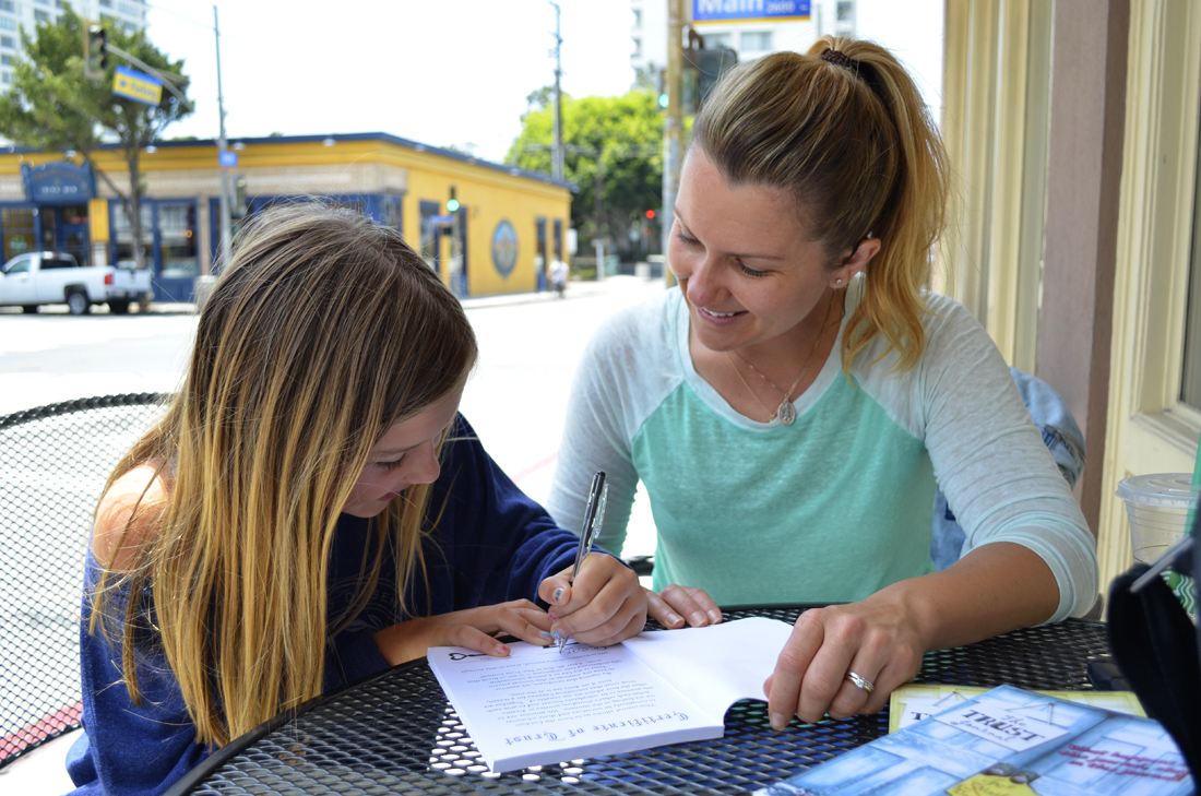 Local Mother Finds Way To Build Trust-  Click here to read the article!