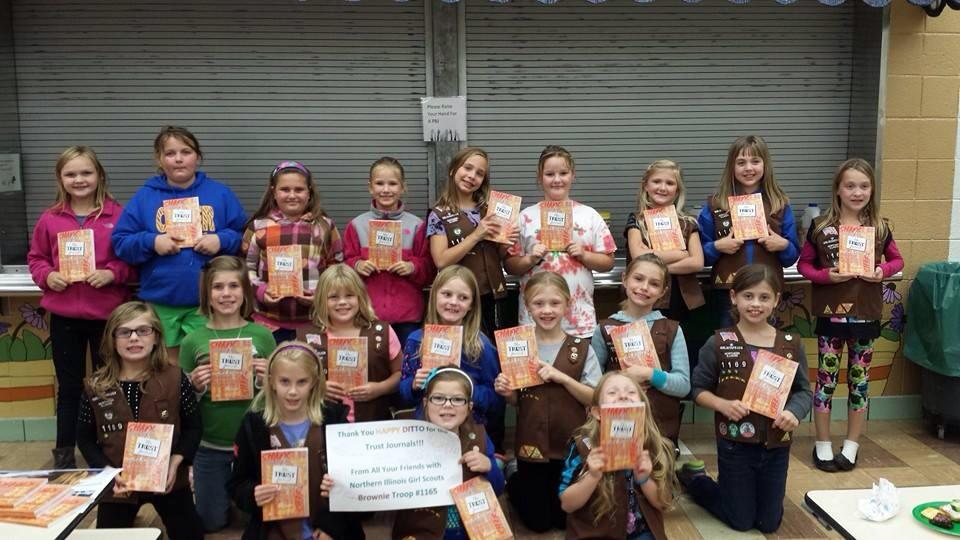 25 Norther Illinois Brownies & their Trust Journals!