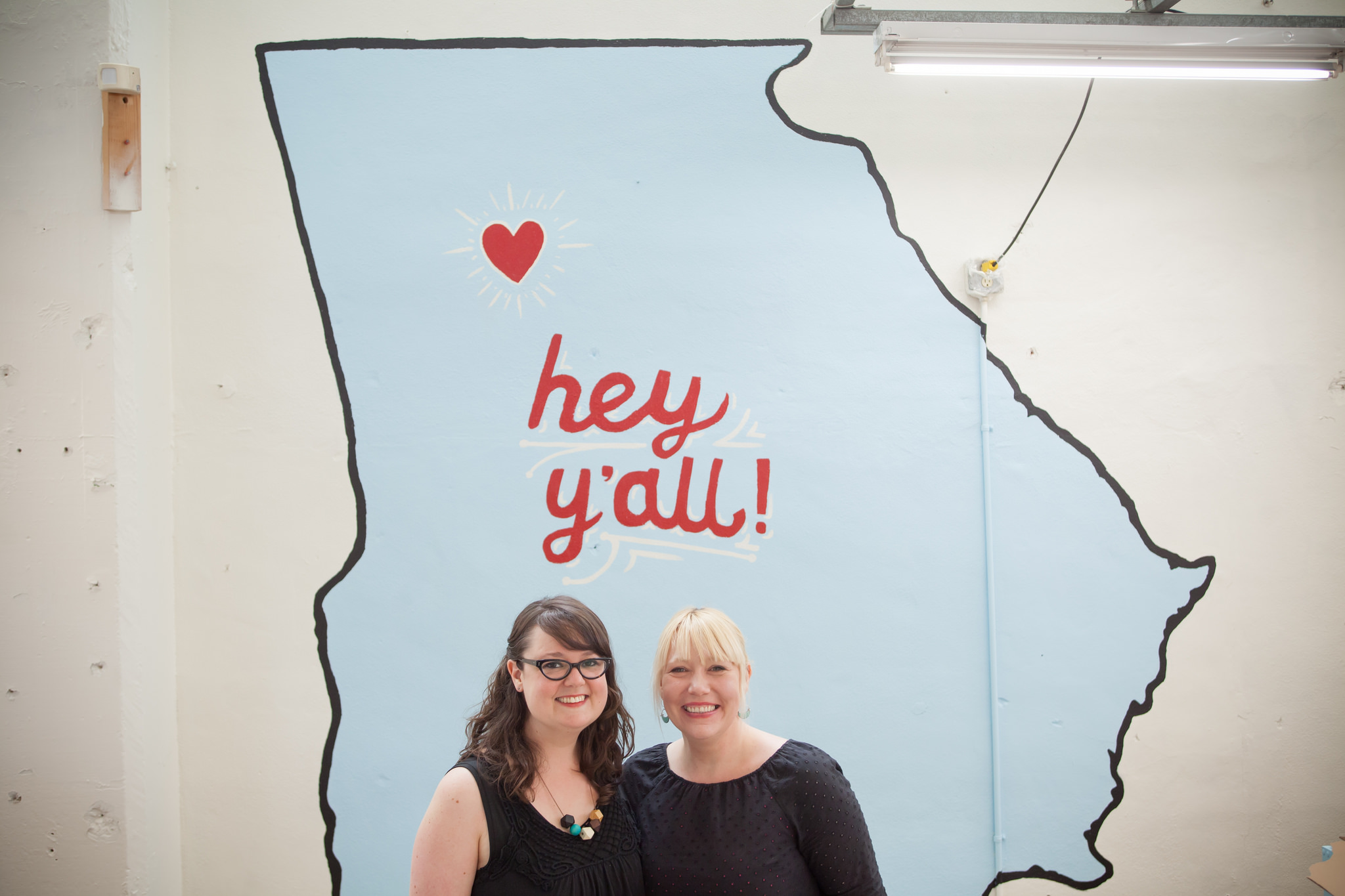 Both Atlanta natives, Christy Petterson and Shannon Mulkey Green founded the Indie Craft Experience in 2005.