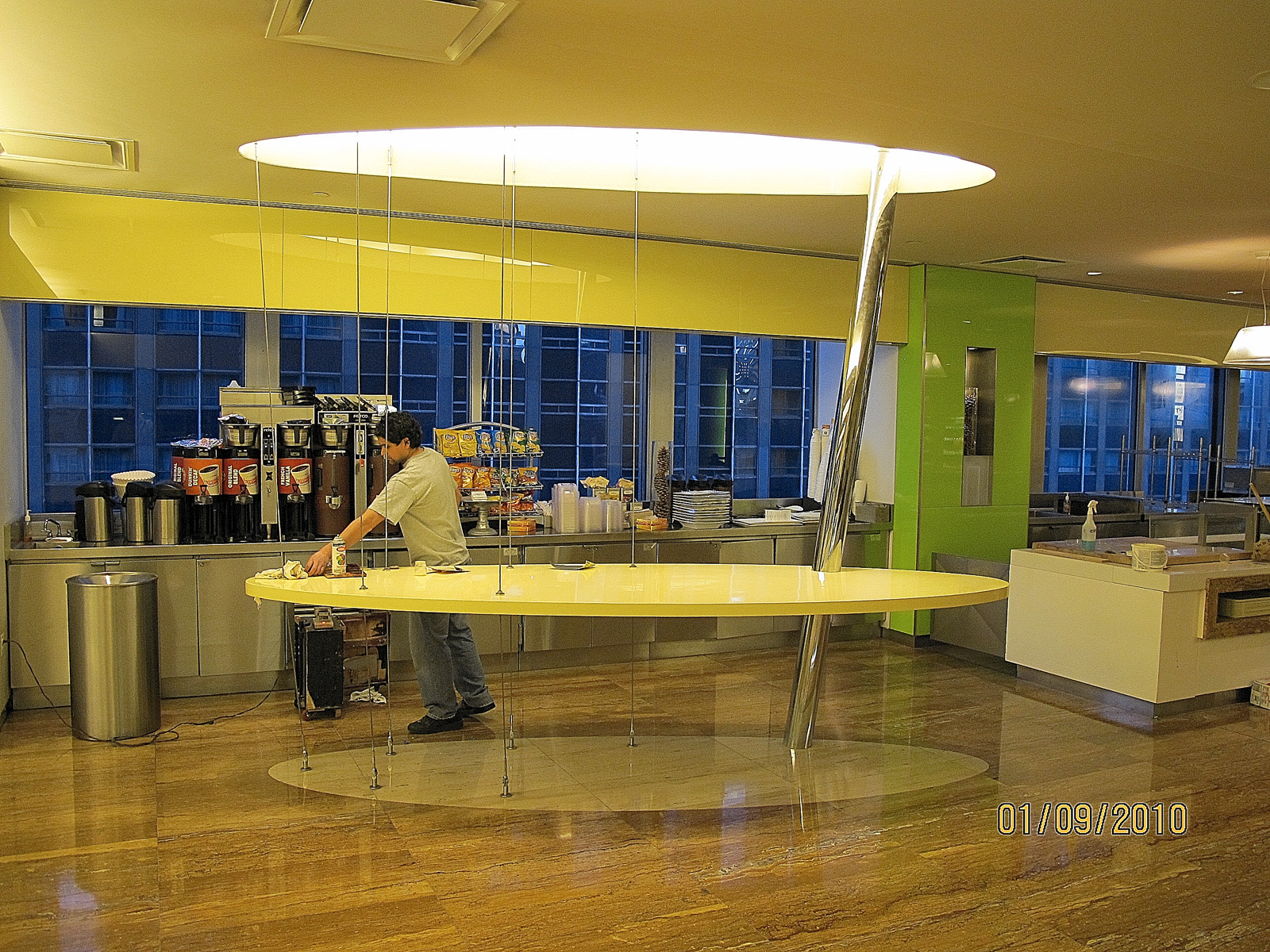 The Floating Table