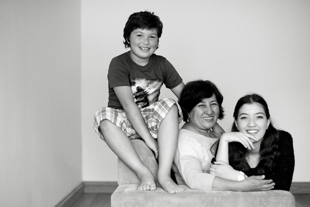 nan and grandkids
