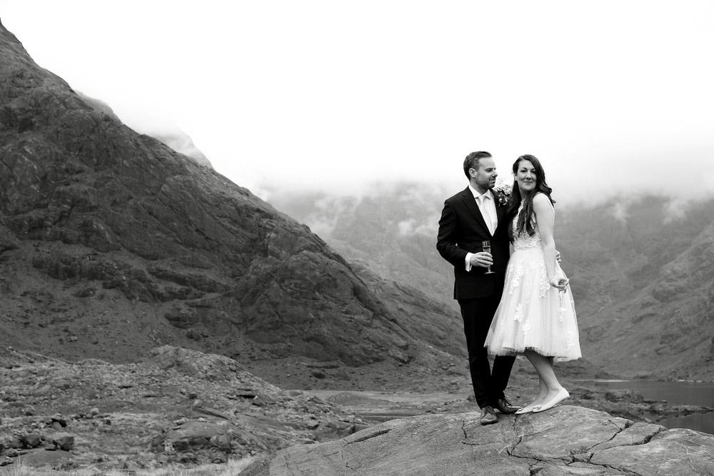 Skye mountain wedding