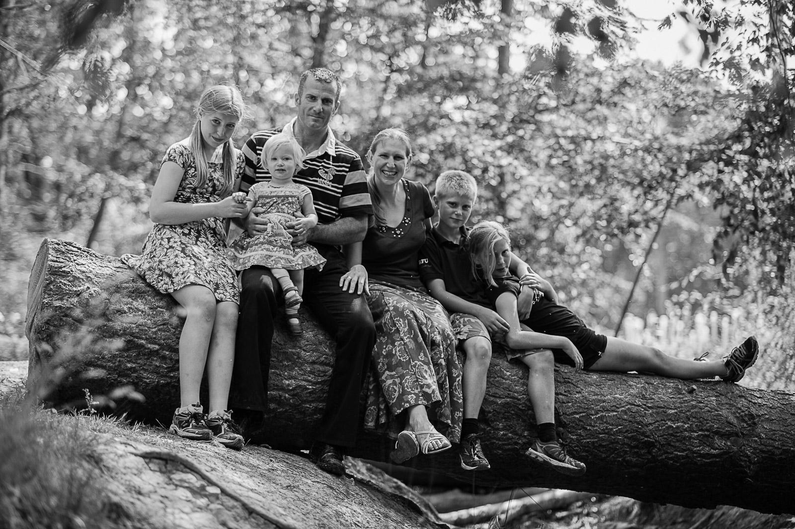 Sussex Woodland family portrait