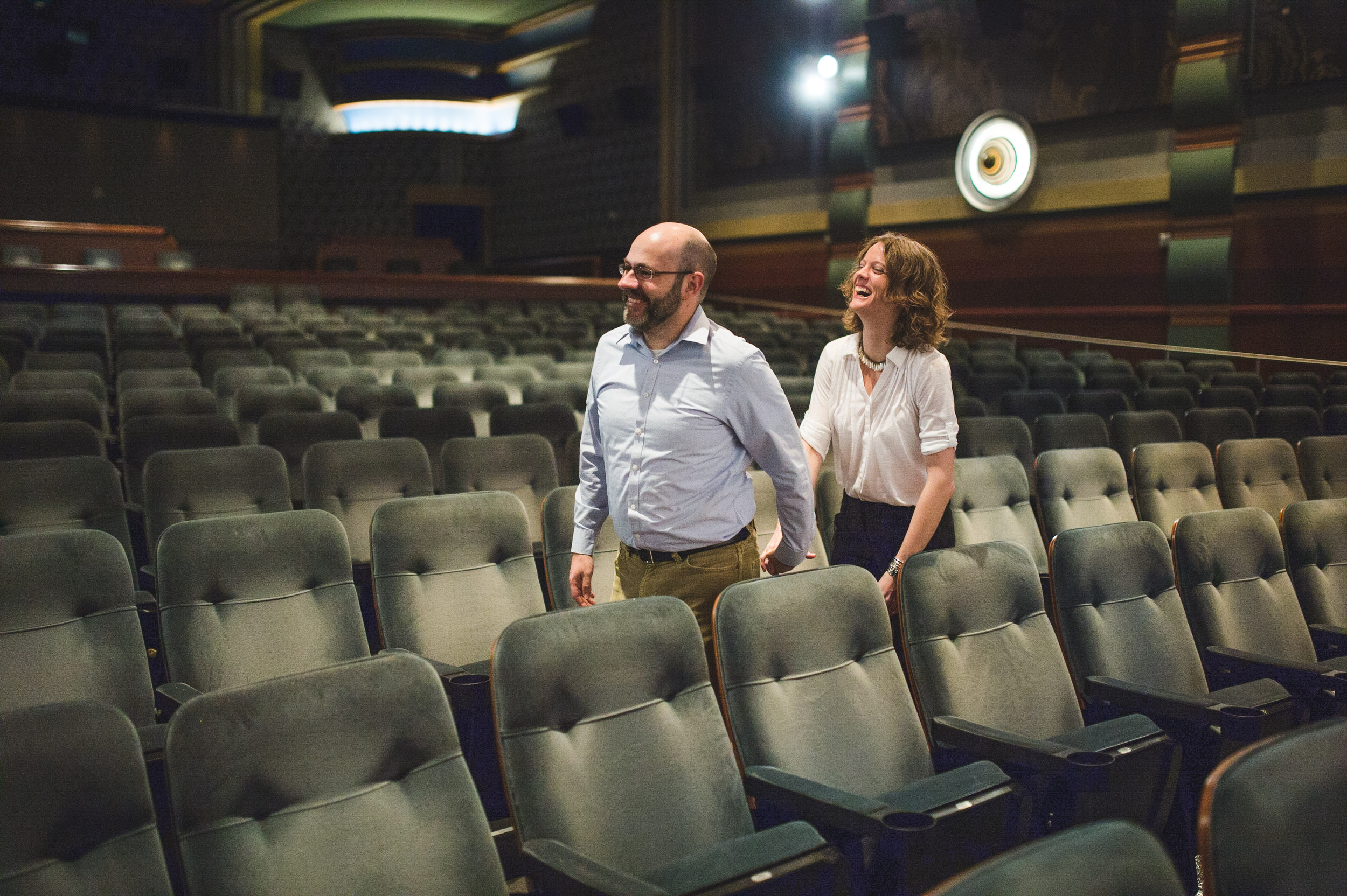Silver Spring AFI Movie theater Engagement Session Photographer Mantas Kubilinskas-4.jpg