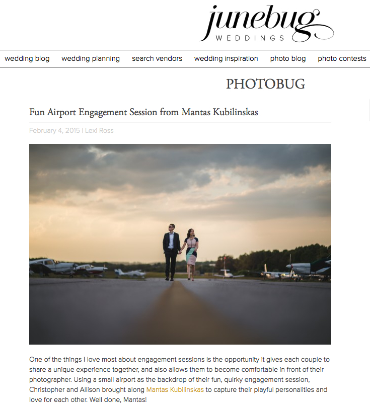 Featured on the best wedding blog in the world