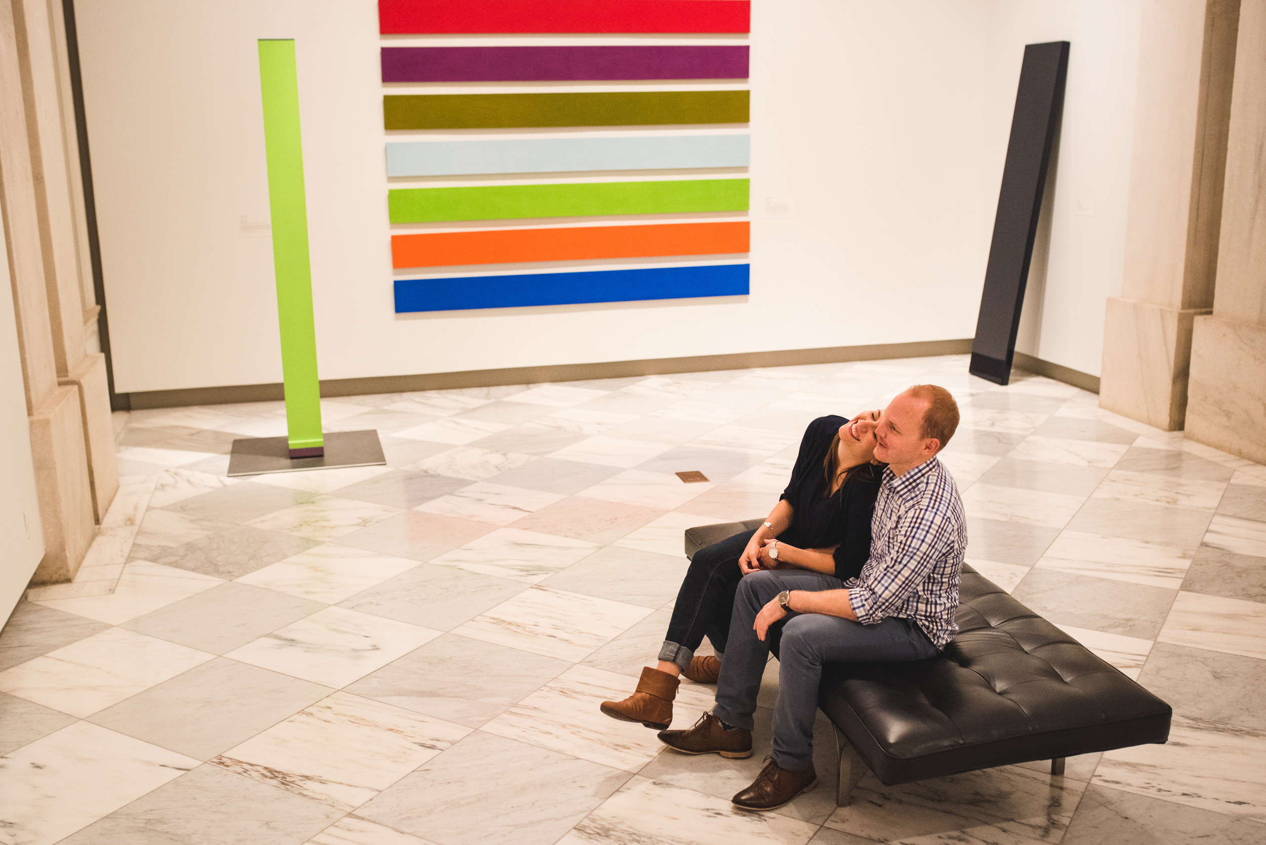 Smithsonian American Art Museum engagement session by Mantas Kubilinskas-5.jpg