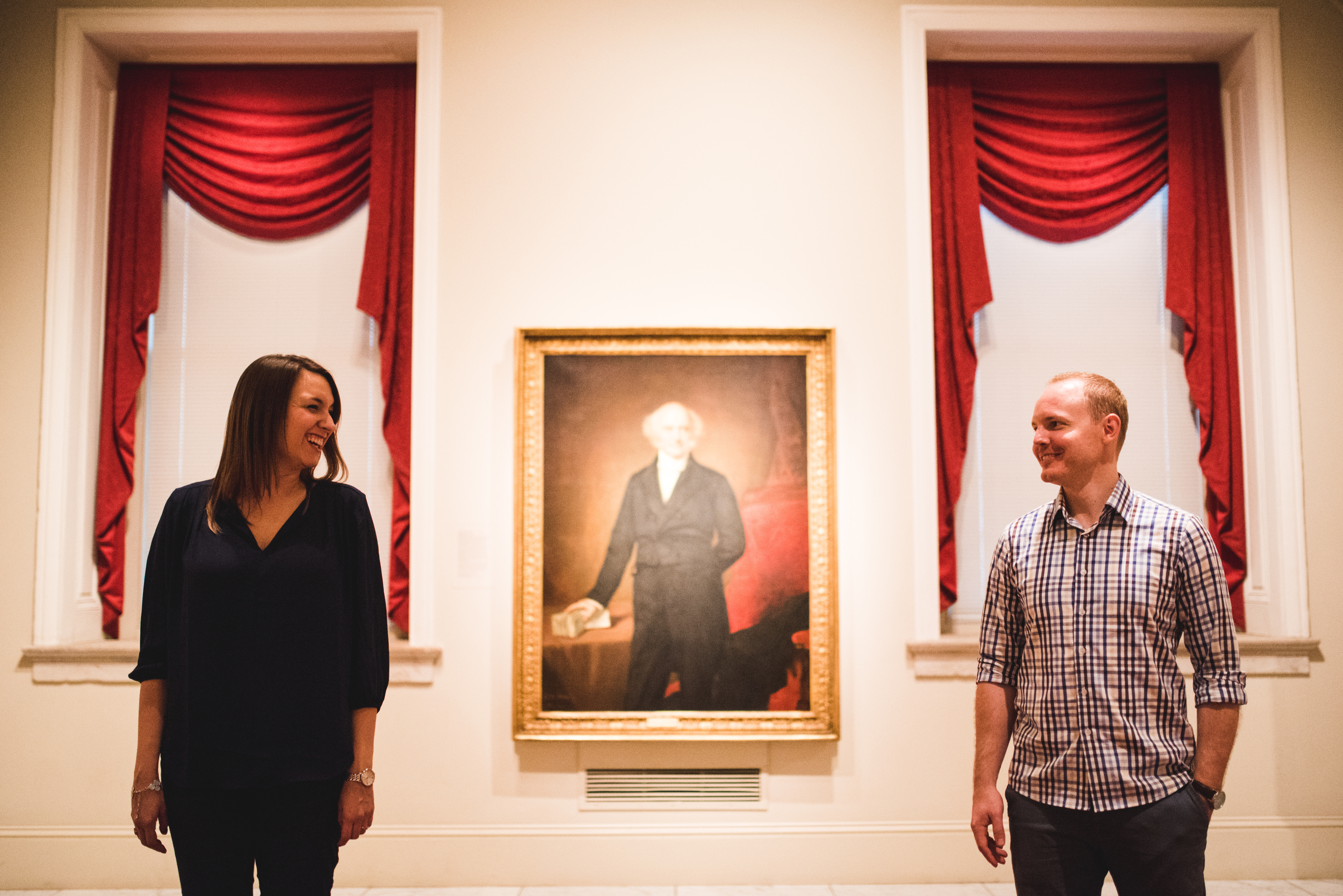 Smithsonian American Art Museum engagement session by Mantas Kubilinskas-12.jpg