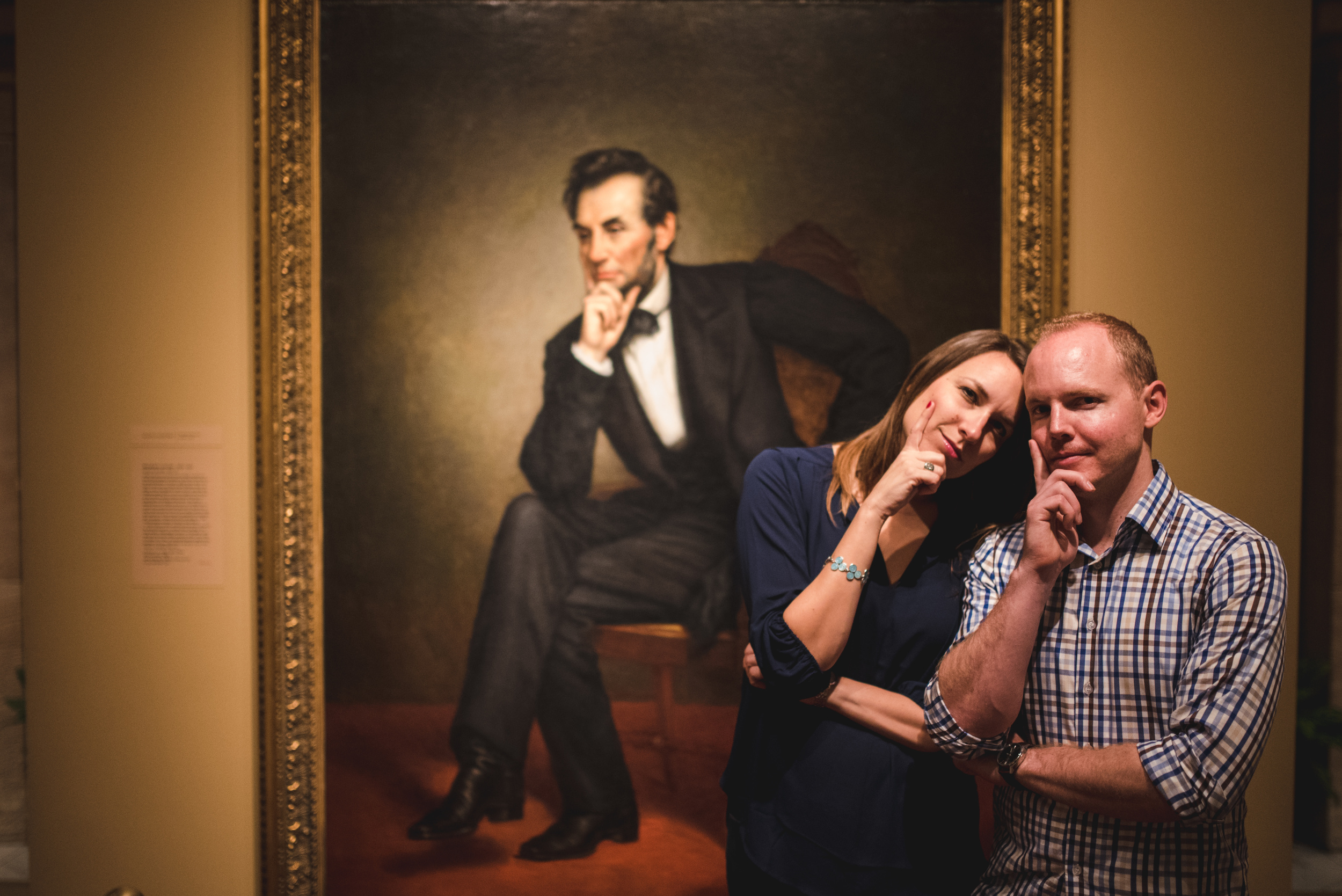 Smithsonian American Art Museum engagement session by Mantas Kubilinskas-13.jpg
