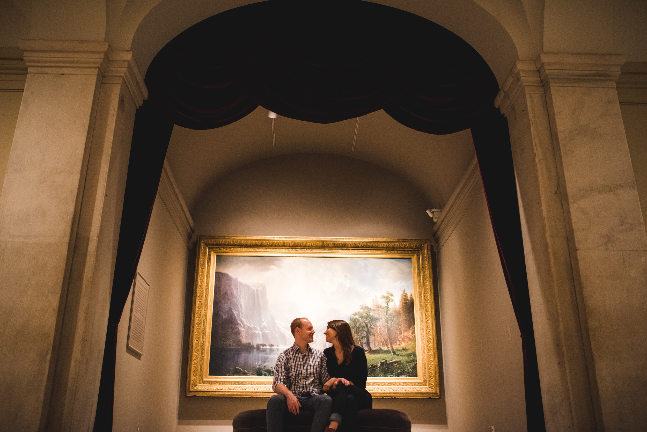 Smithsonian American Art Museum engagement session by Mantas Kubilinskas-16.jpg