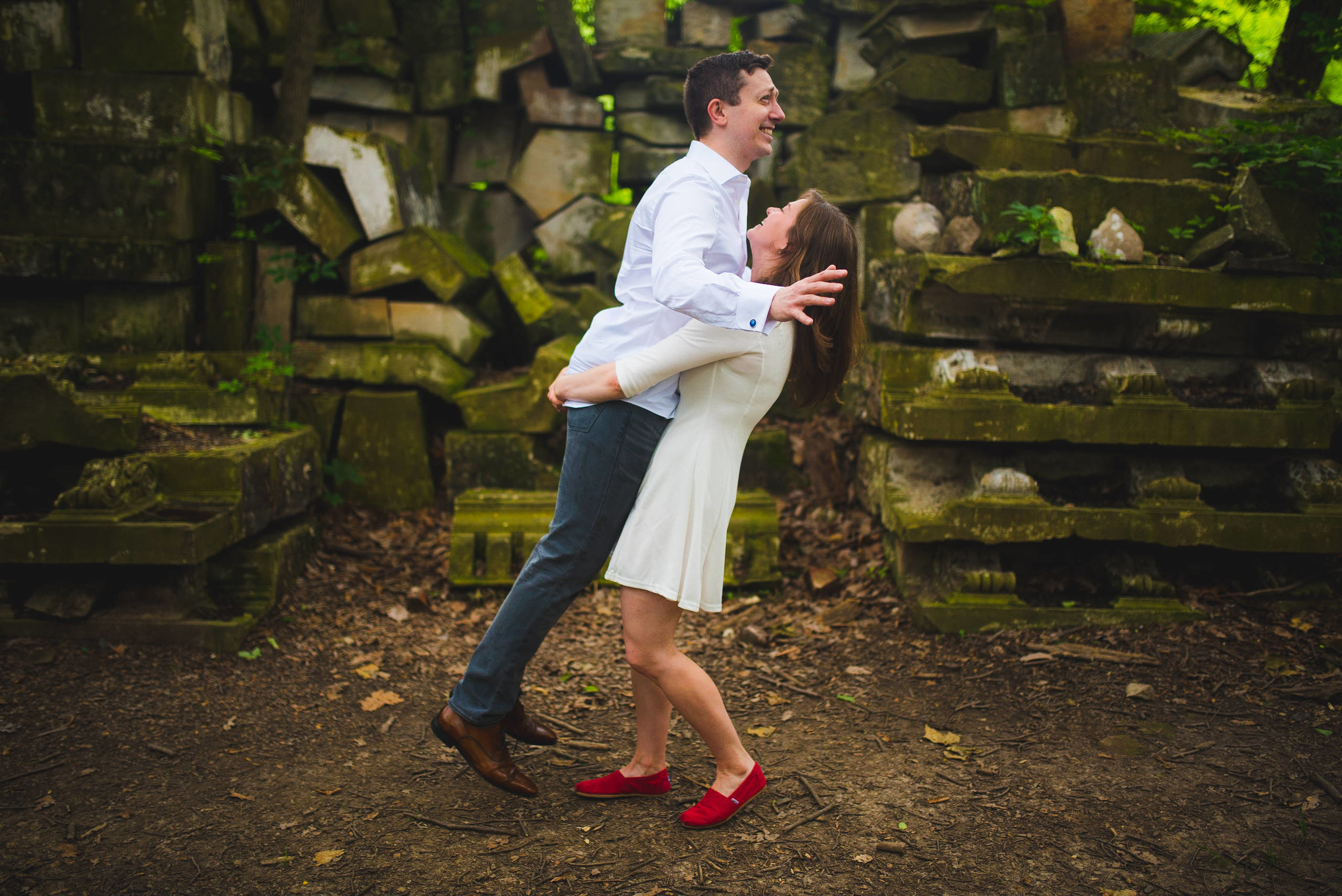 Stones from US Capitol in Rock Creek Park Engagement Session-4.jpg
