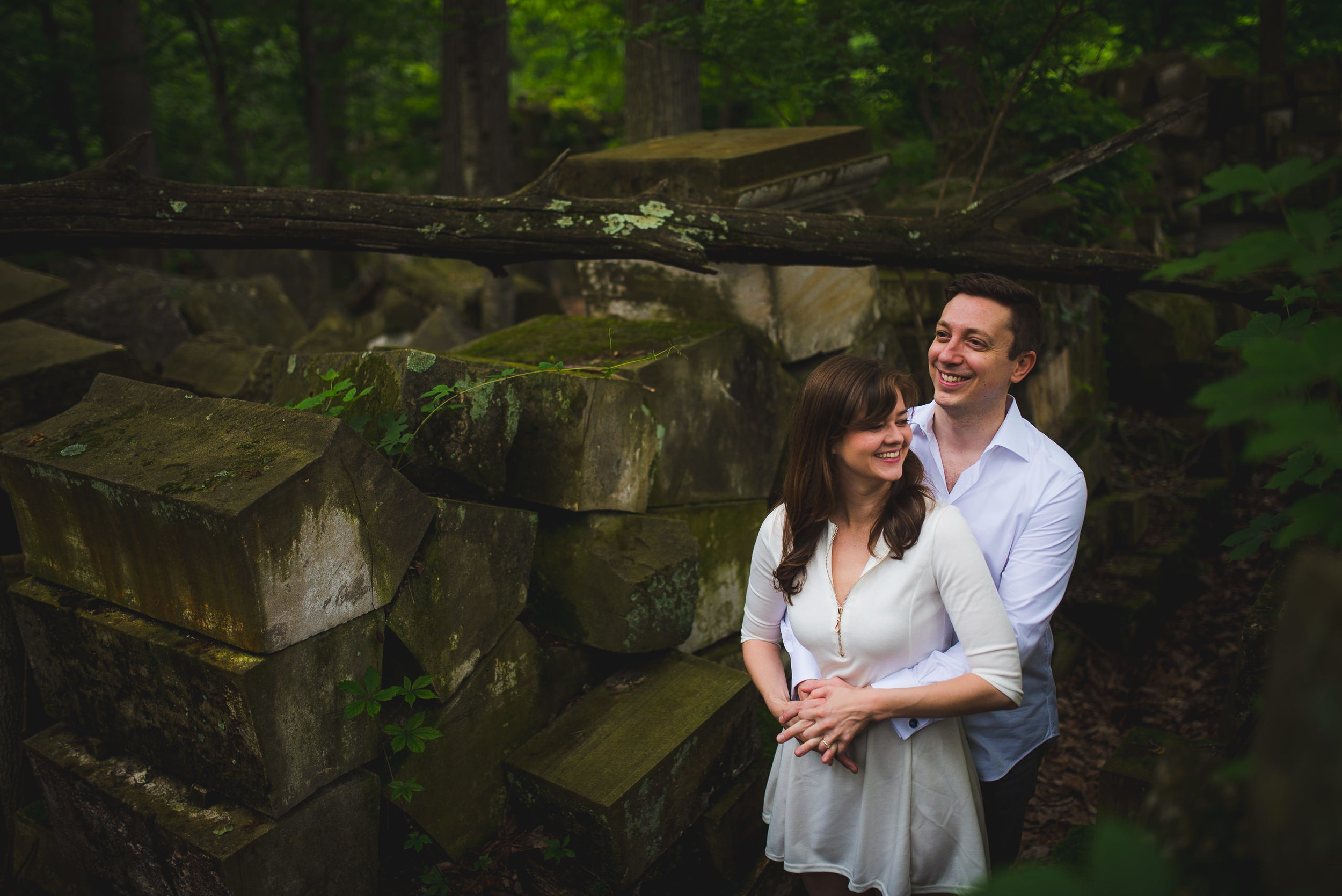 Stones from US Capitol in Rock Creek Park Engagement Session-7.jpg