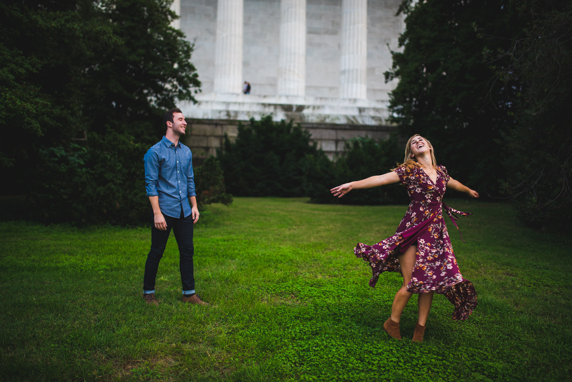 Lincoln Memorial Documentary Engagement Session_-7.jpg