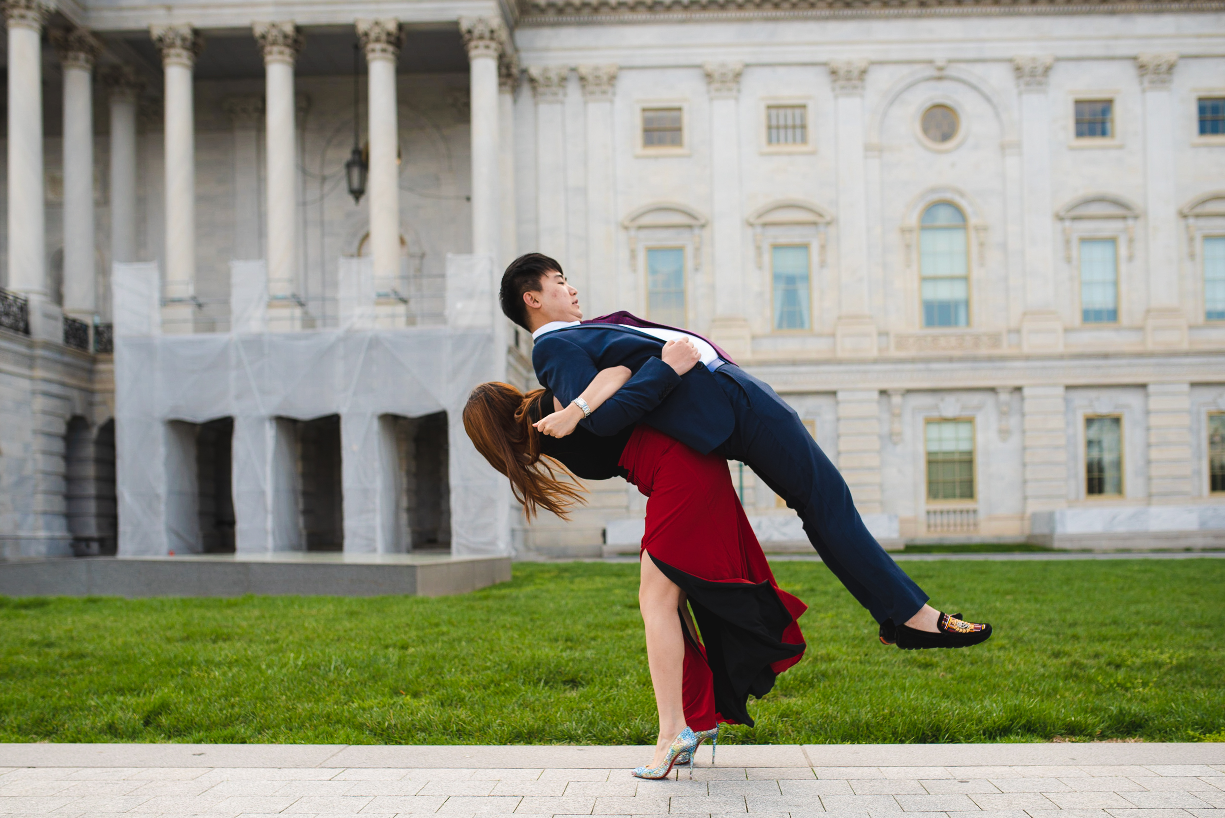 United States Capitol engagement photographer