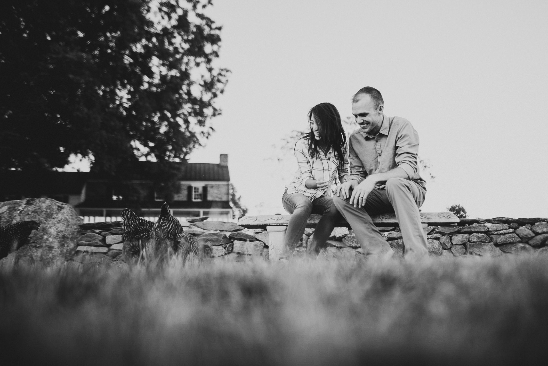 Sky Meadows State Park engagement session