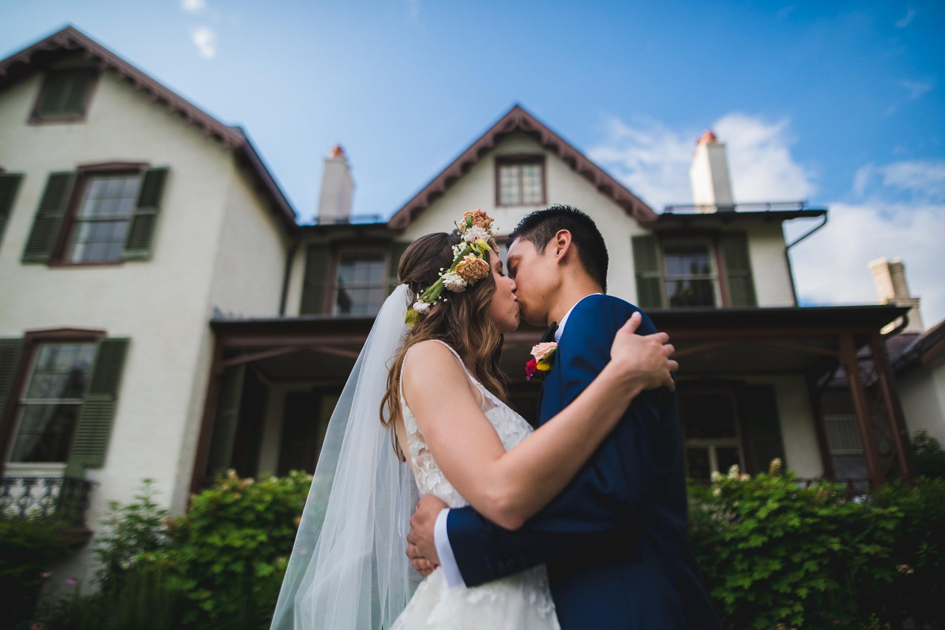 Artistic Wedding at President Lincoln's Cottage Washington DC