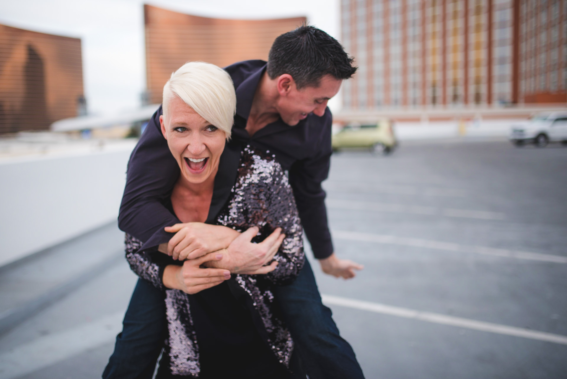 Creative Engagement Photos Las Vegas