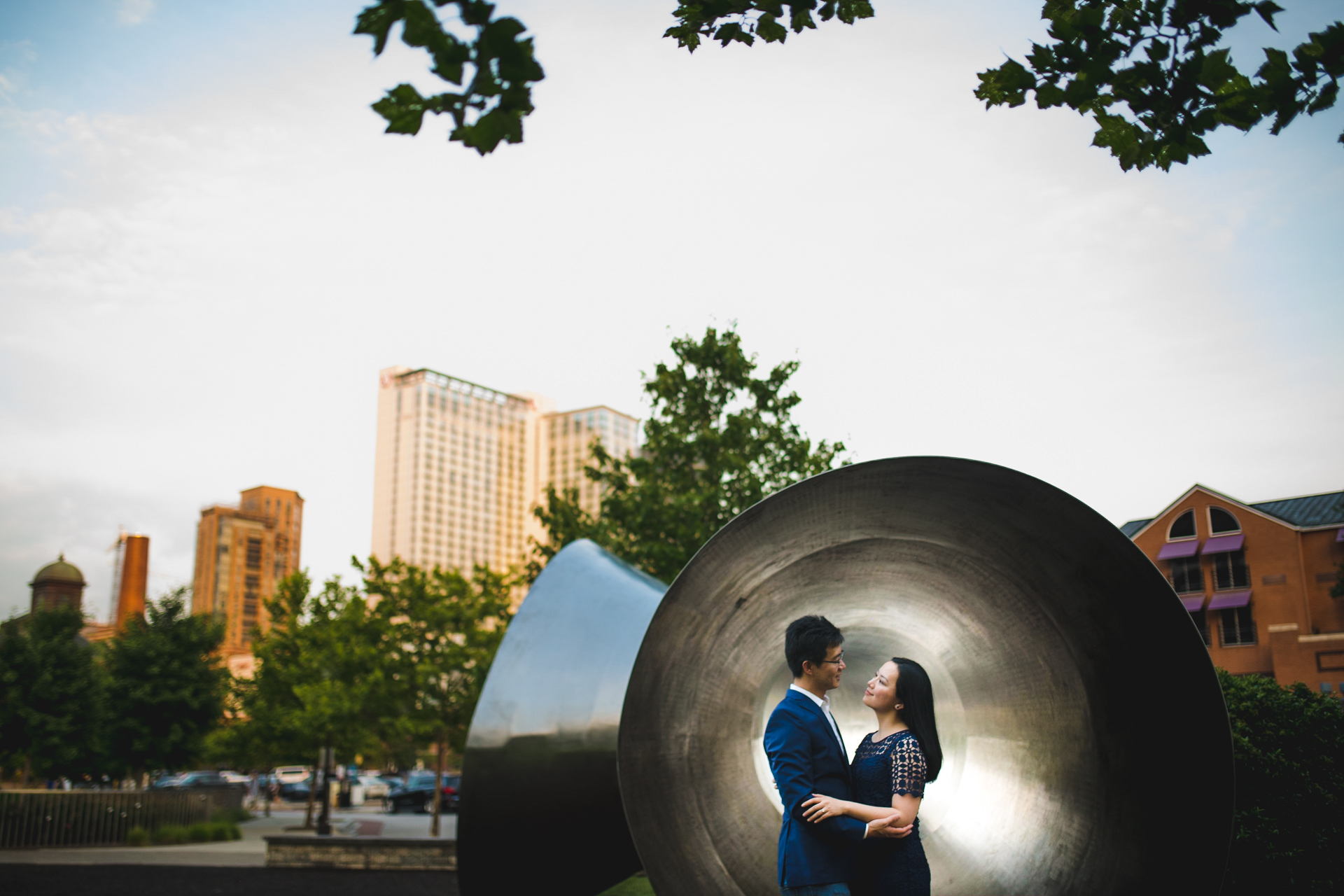 Artistic Engagement Photos Baltimore MD