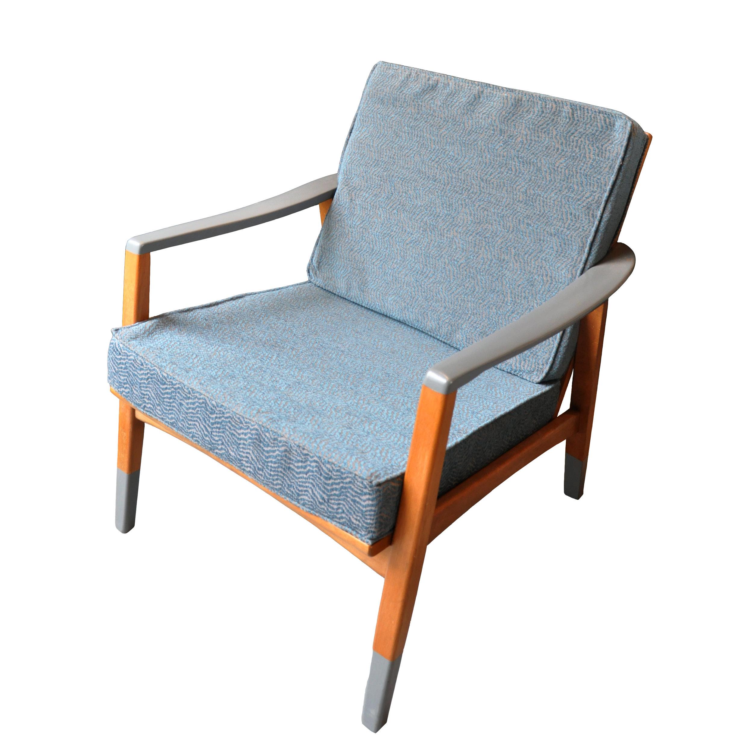 Dänische Sessel grau -