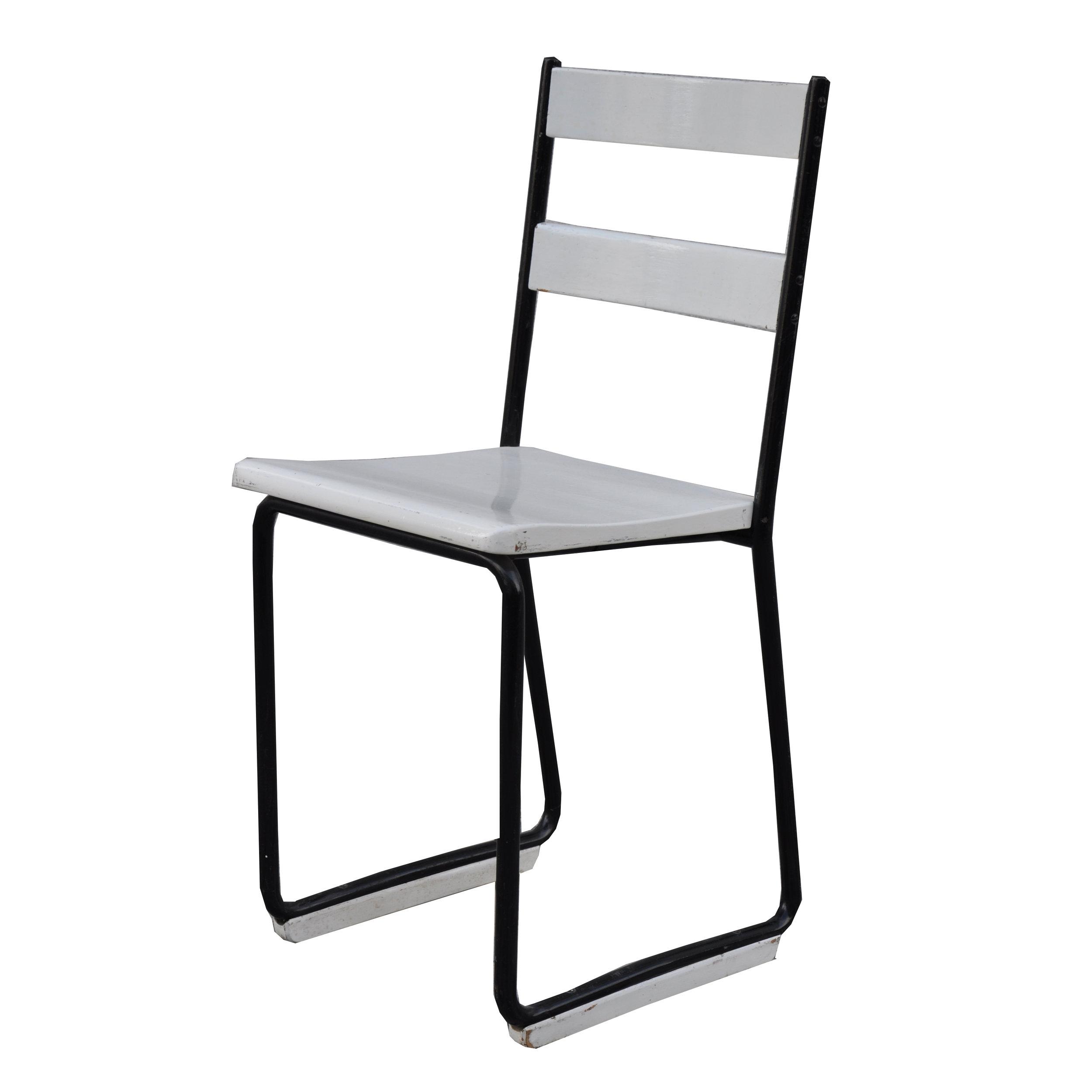 Bauhaus Stuhl schwarz-weiß -