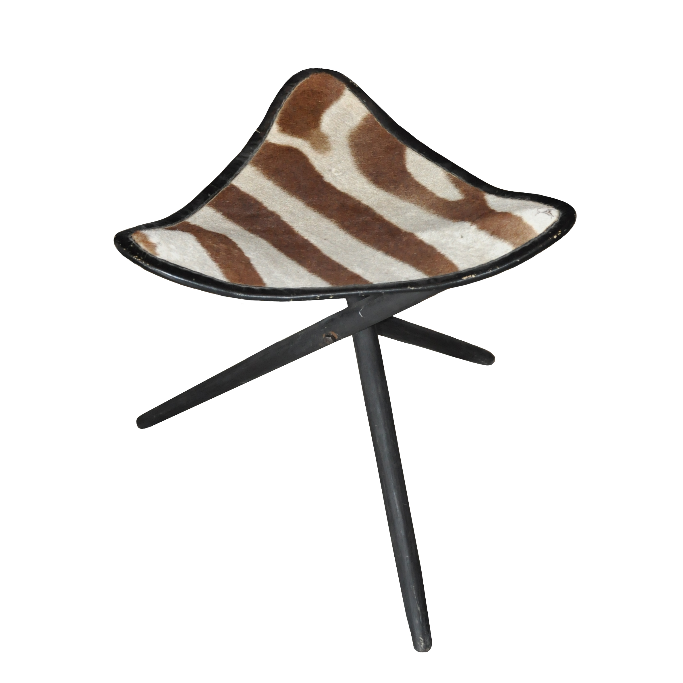 Hocker Zebra -