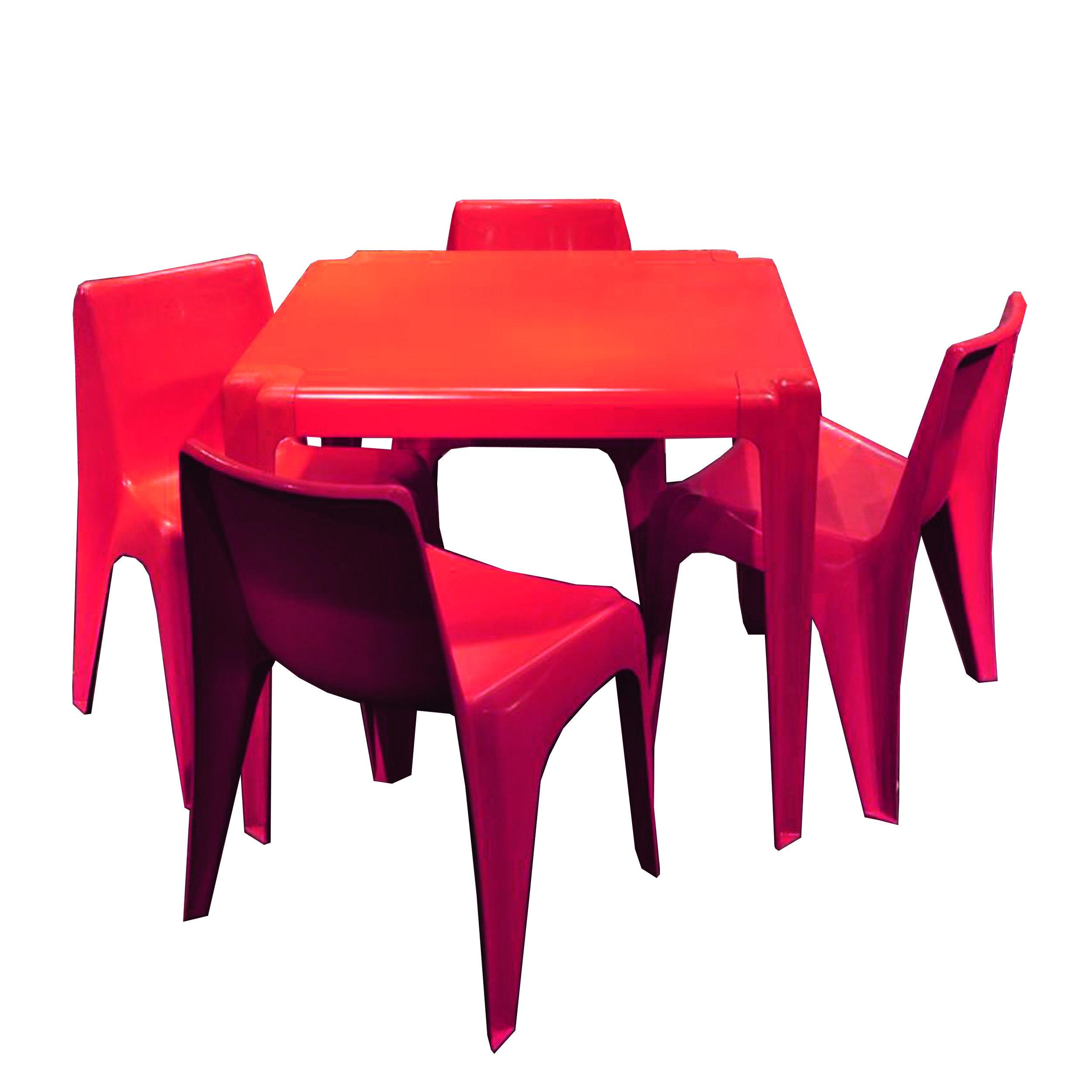 Bofinger Tisch rot -